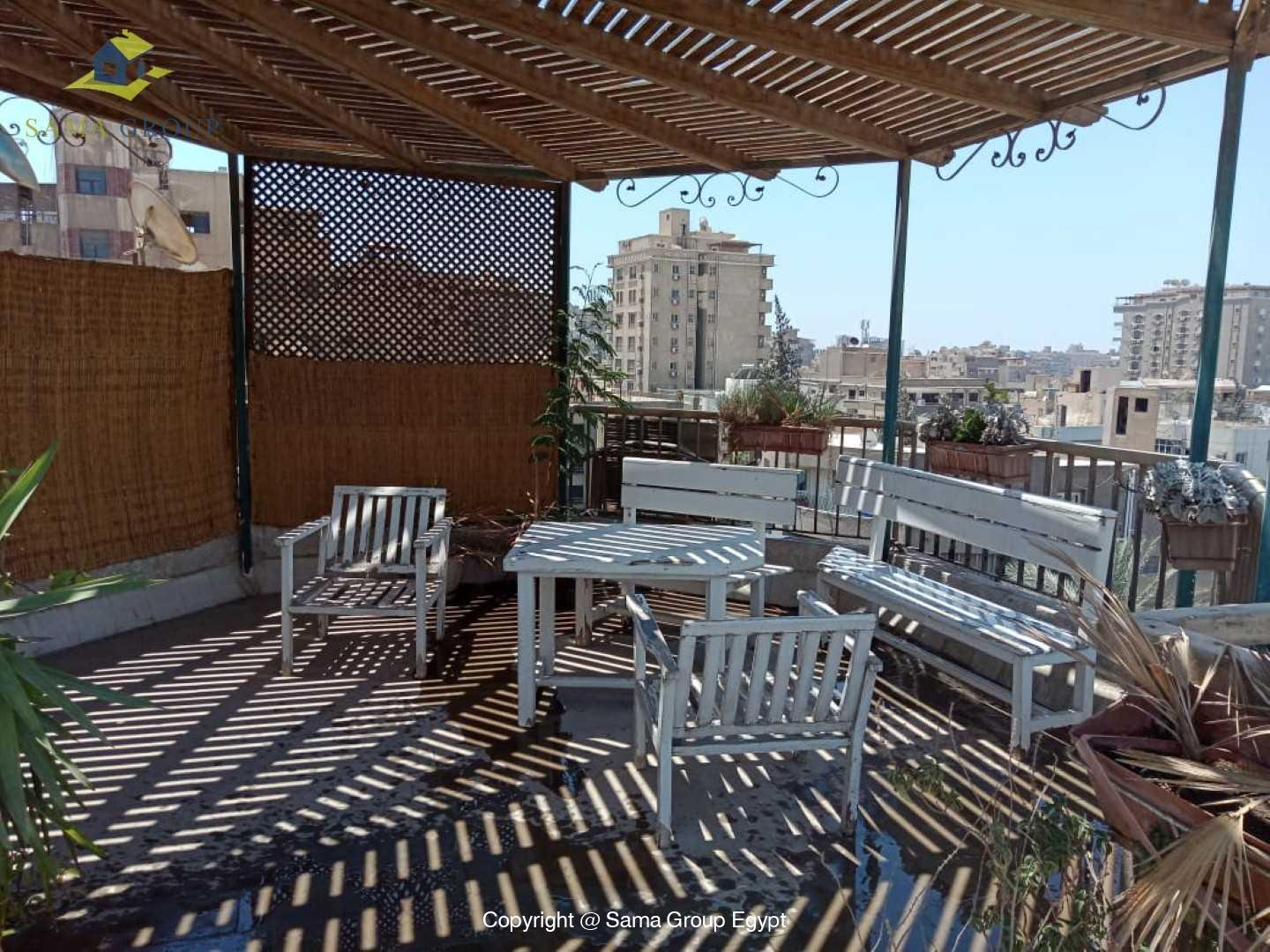 Penthouse For Rent In Maadi Degla Close to CAC,Furnished,Penthouse NO #18