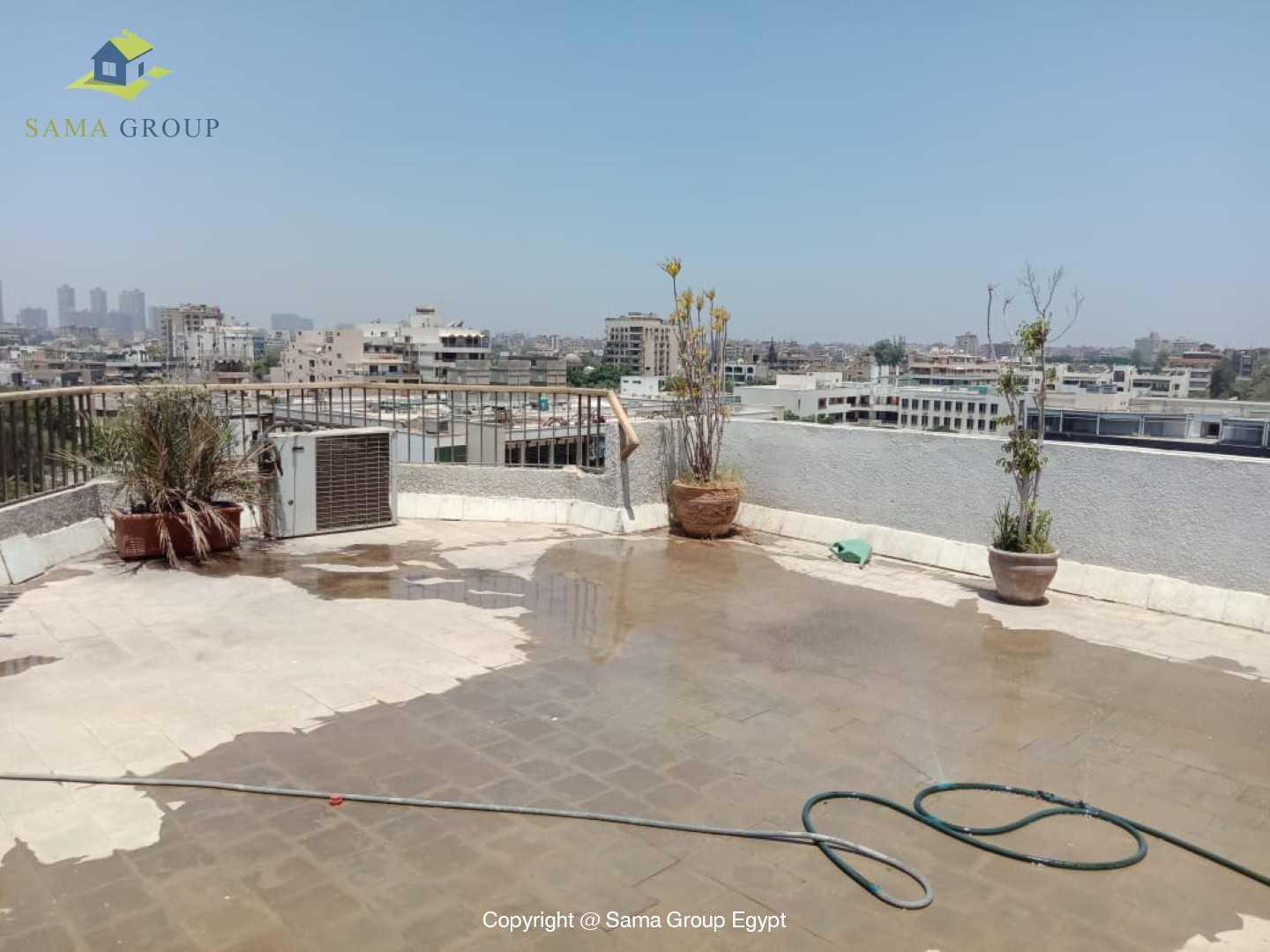 Penthouse For Rent In Maadi Degla Close to CAC,Furnished,Penthouse NO #19