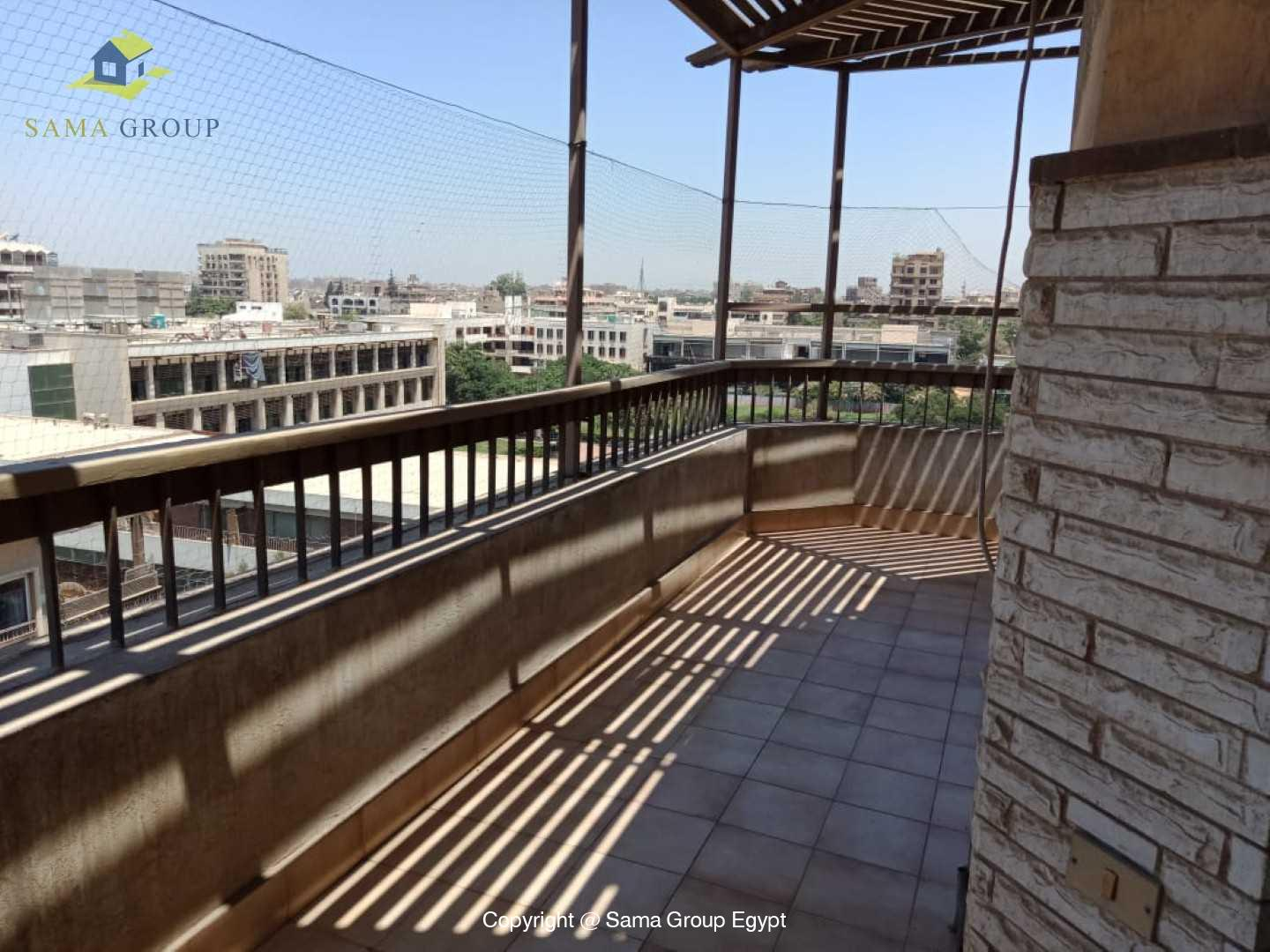 Penthouse For Rent In Maadi Degla Close to CAC,Furnished,Penthouse NO #20