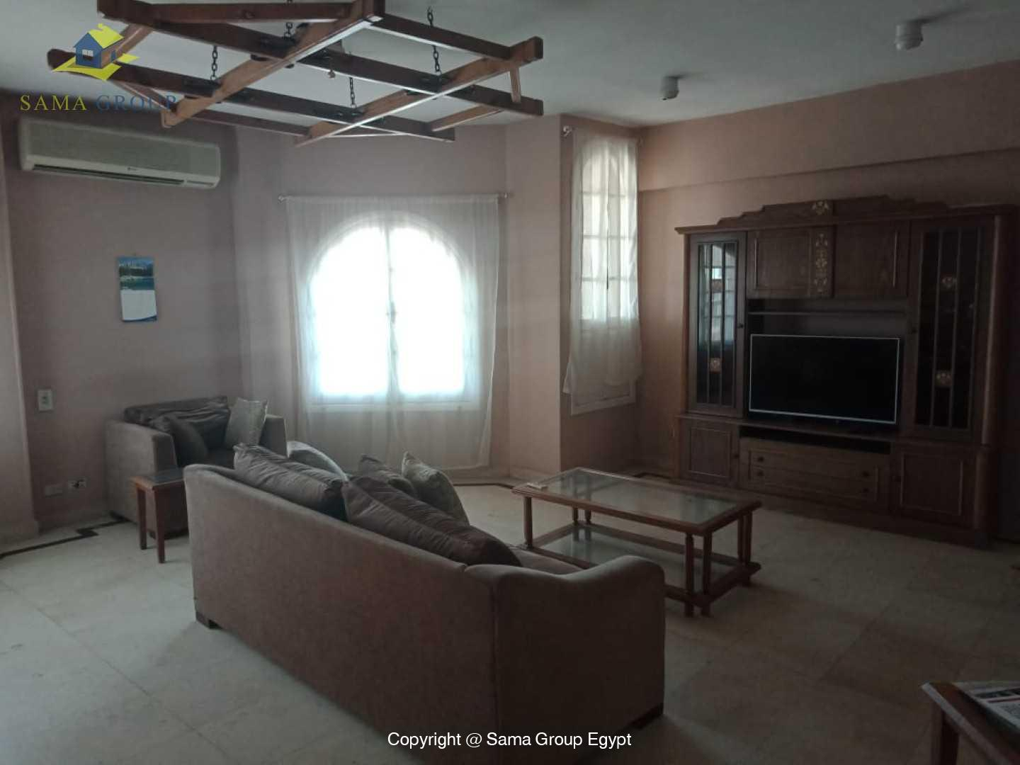 Penthouse For Rent In Maadi Degla Close to CAC,Furnished,Penthouse NO #13