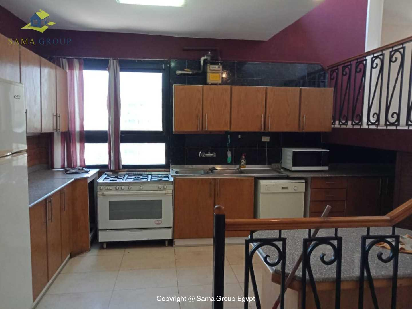 Penthouse For Rent In Maadi Degla Close to CAC,Furnished,Penthouse NO #9