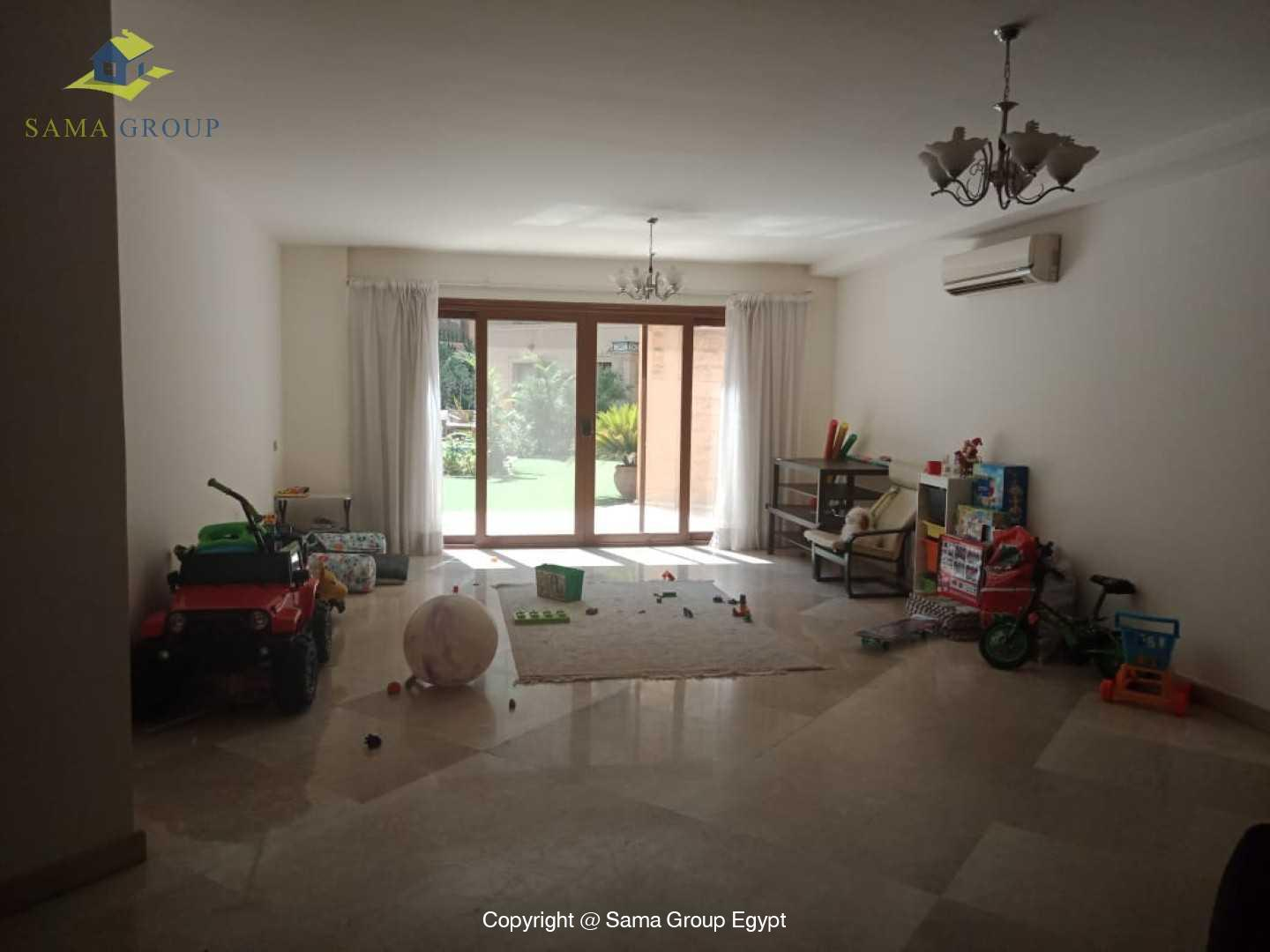Ground Floor Duplex With Pool For Rent In Maadi Sarayat,Semi furnished,Ground Floor NO #13
