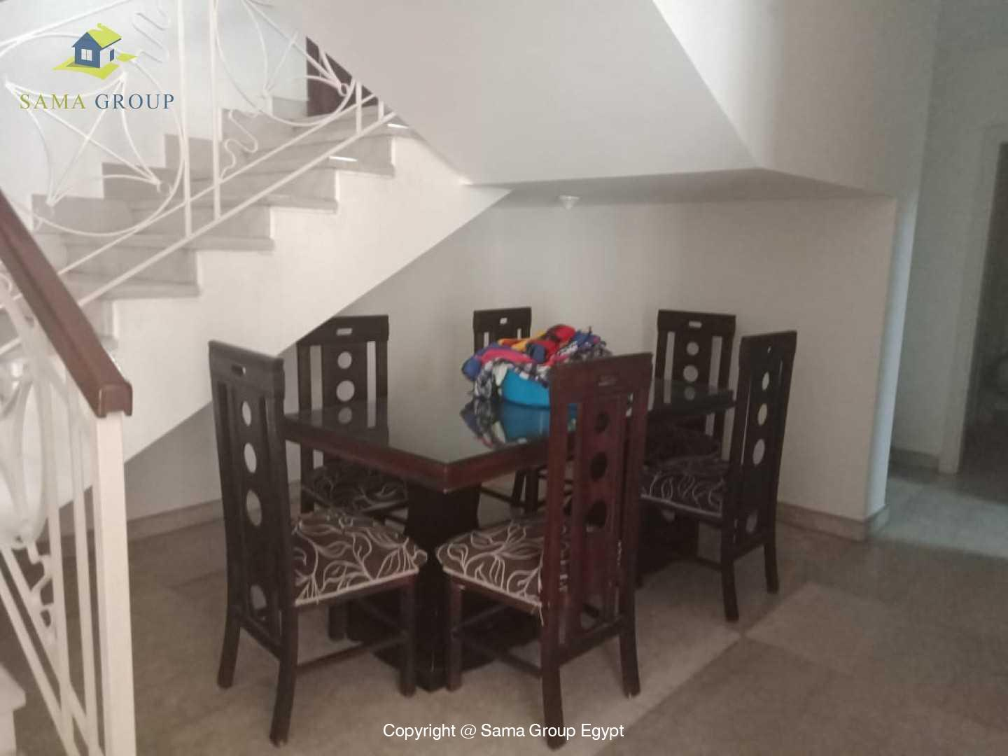 Ground Floor Duplex With Pool For Rent In Maadi Sarayat,Semi furnished,Ground Floor NO #12