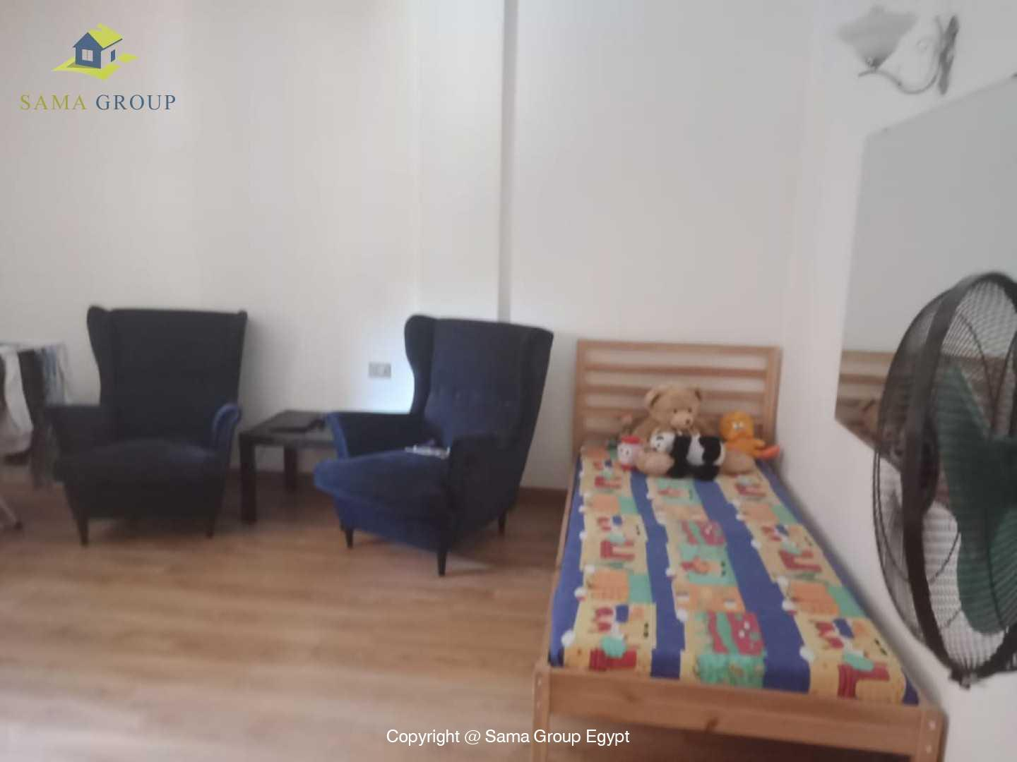 Ground Floor Duplex With Pool For Rent In Maadi Sarayat,Semi furnished,Ground Floor NO #7