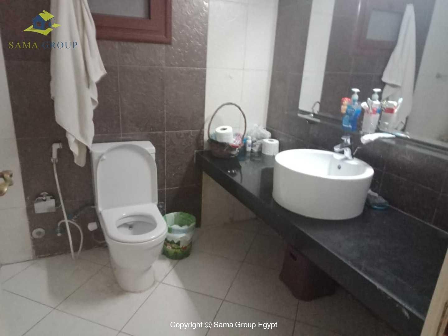Ground Floor Duplex With Pool For Rent In Maadi Sarayat,Semi furnished,Ground Floor NO #15