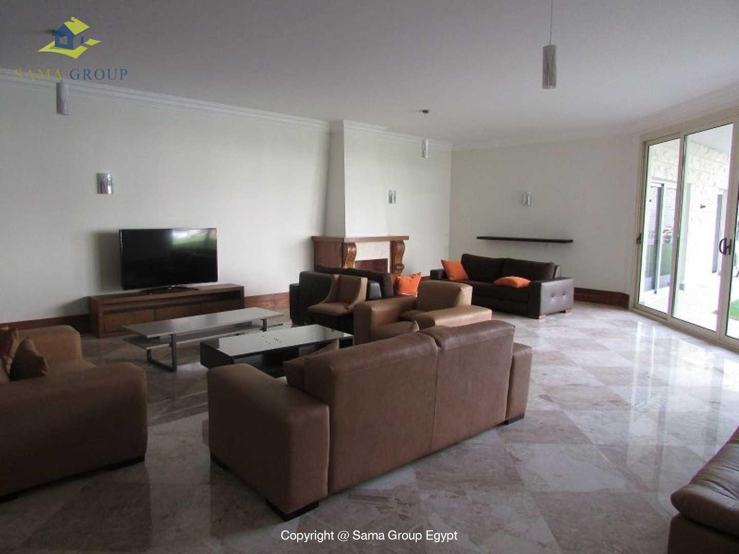 Ground Floor With Pool For Rent In Maadi Sarayat,Modern Furnished,Ground Floor NO #3