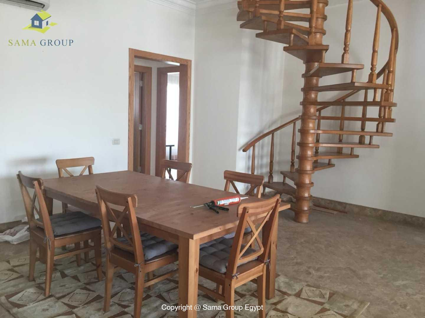 Penthouse With Pool For Rent In Maadi Sarayat,Modern Furnished,Penthouse NO #22