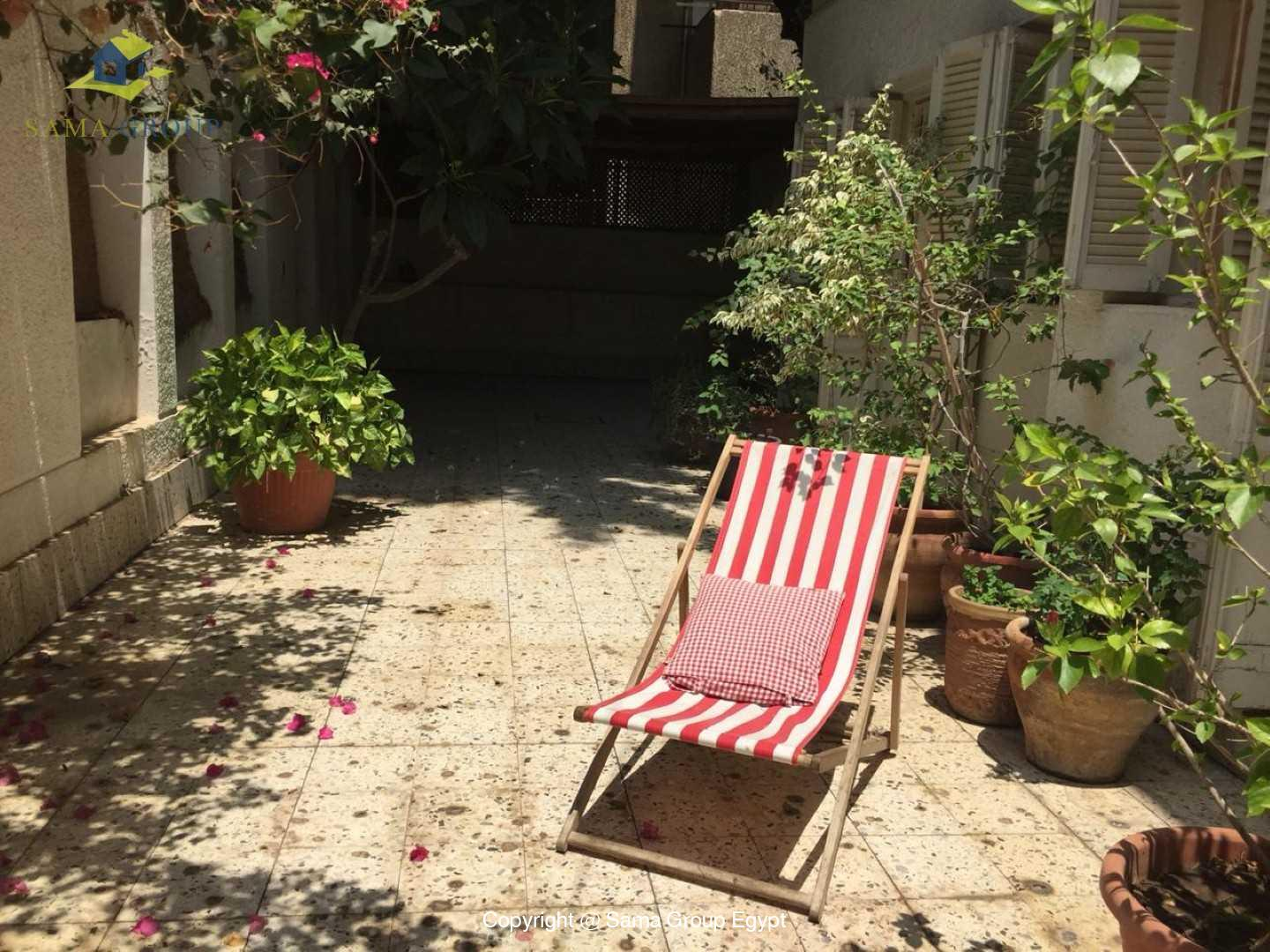 Ground Floor Apartment For Rent In Maadi,Modern Furnished,Ground Floor NO #14