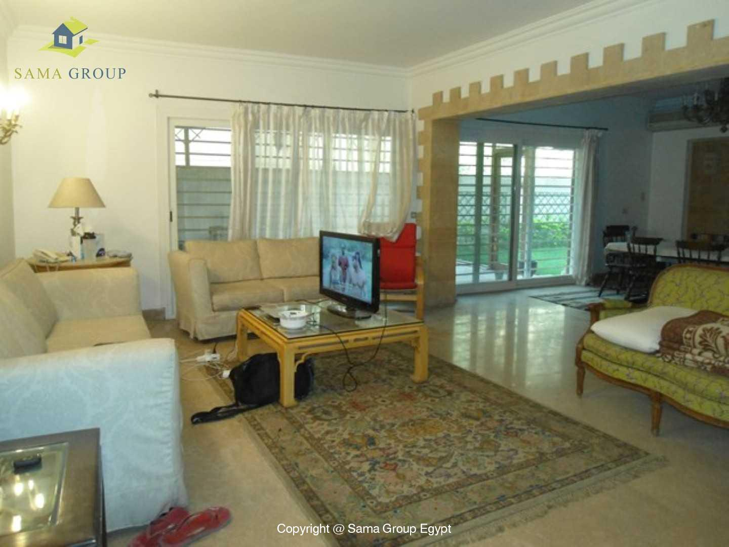 Furnished Ground Floor For Rent In Maadi,Modern Furnished,Ground Floor NO #12