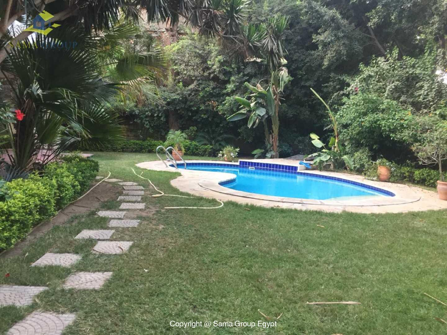 Villa with swimming pool For Rent In Maadi,Semi furnished,Villa NO #1