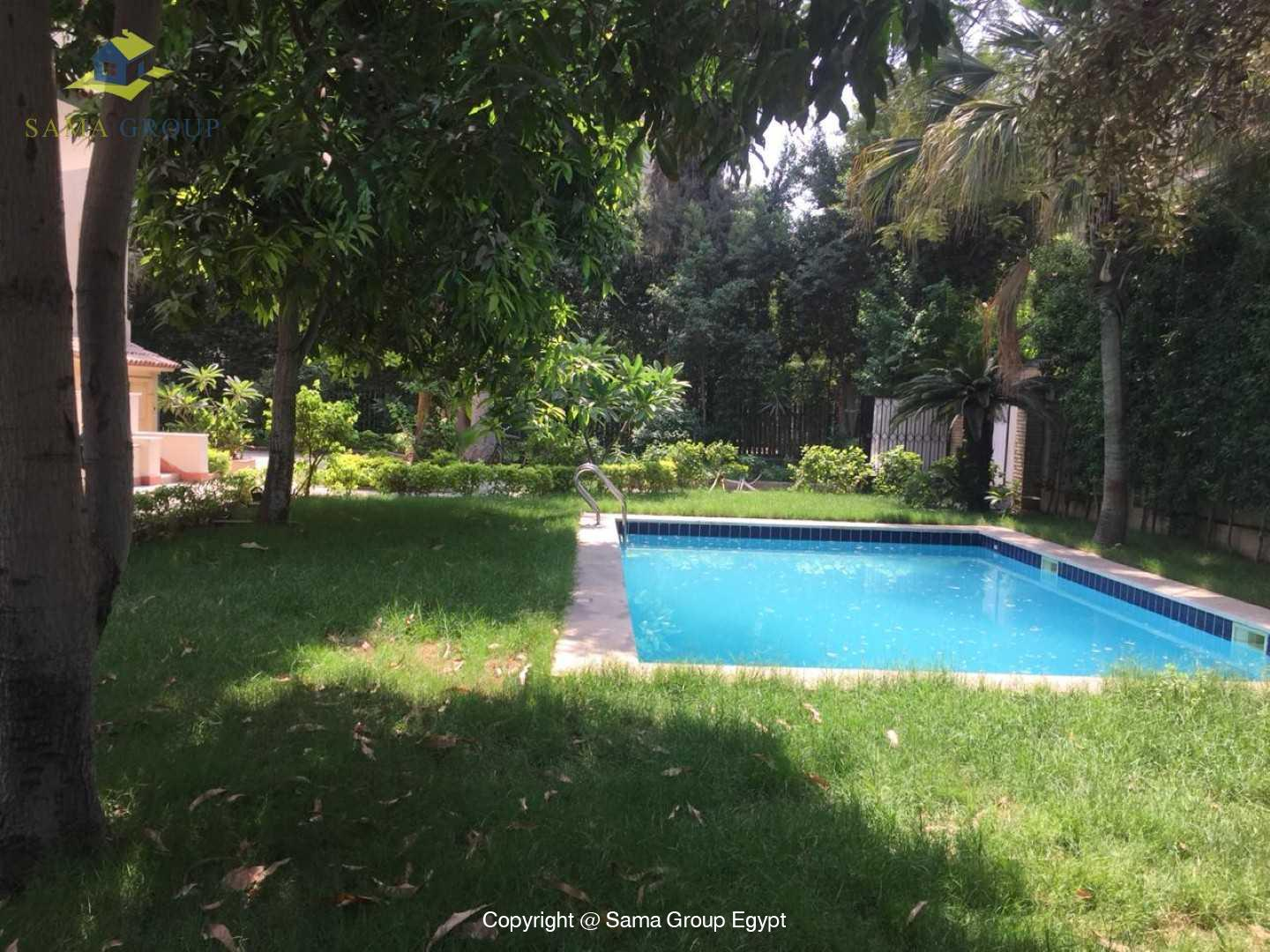Villa with swimming pool For Rent In Maadi Sarayat