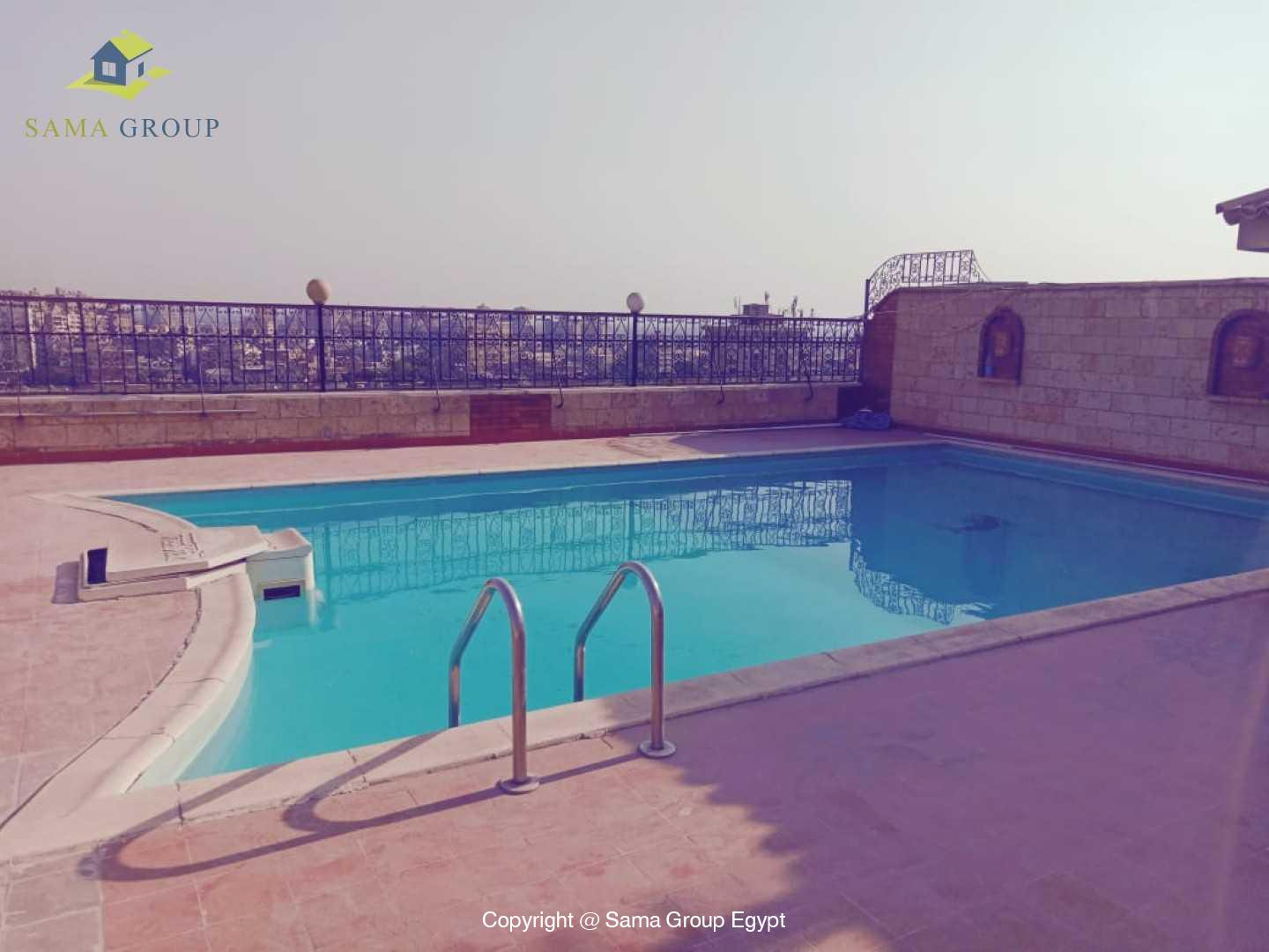 Penthouse With Pool For Rent In Maadi Degla