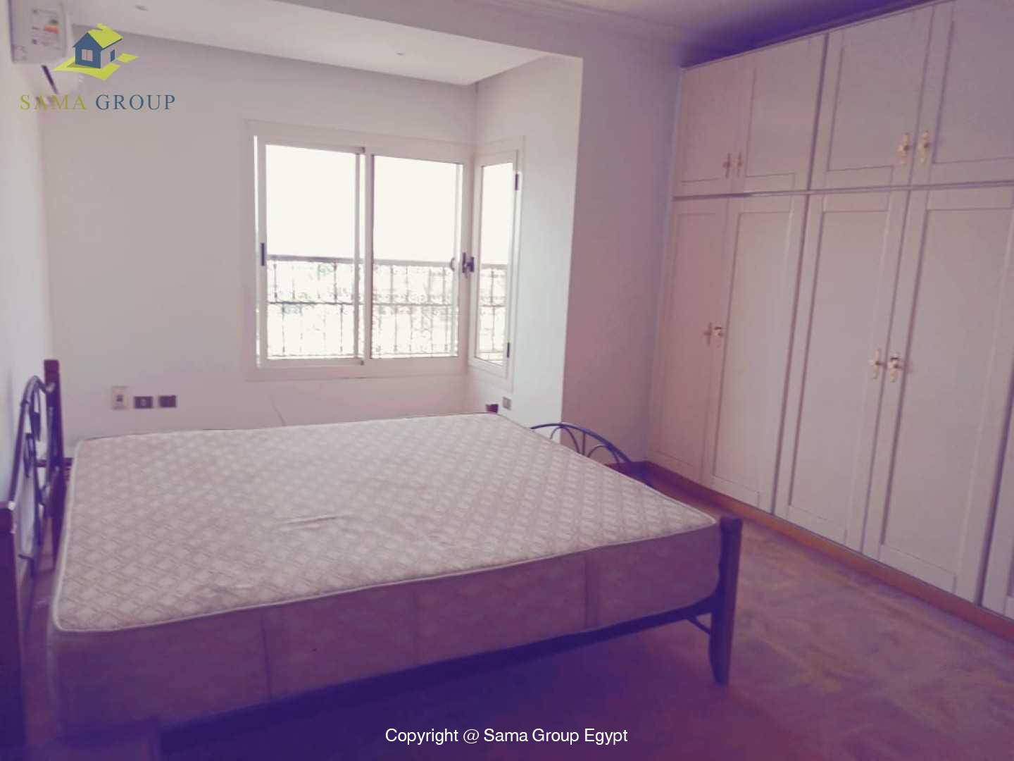 Penthouse With Pool For Rent In Maadi Degla,Semi furnished,Penthouse NO #18