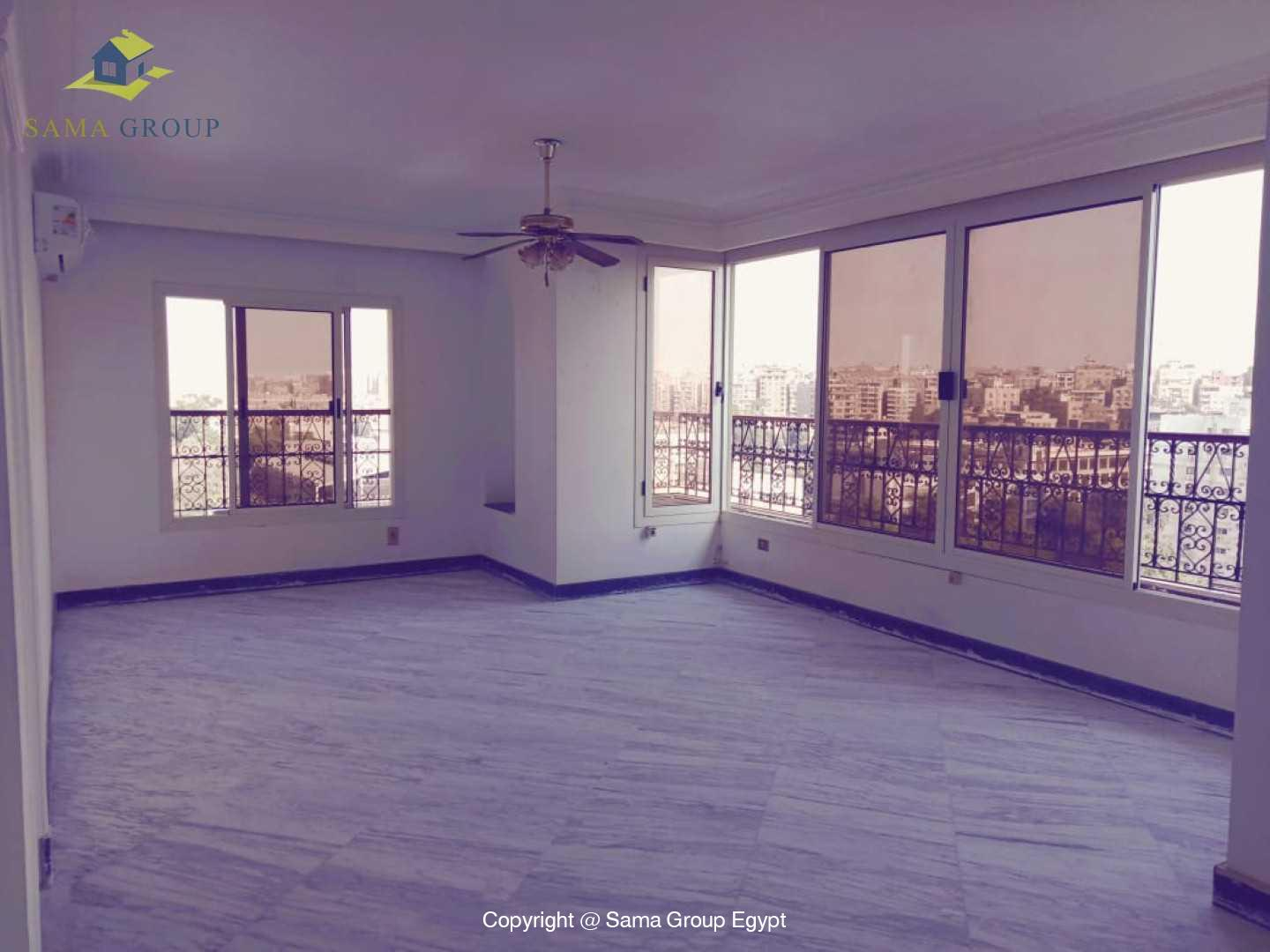 Penthouse With Pool For Rent In Maadi Degla,Semi furnished,Penthouse NO #19