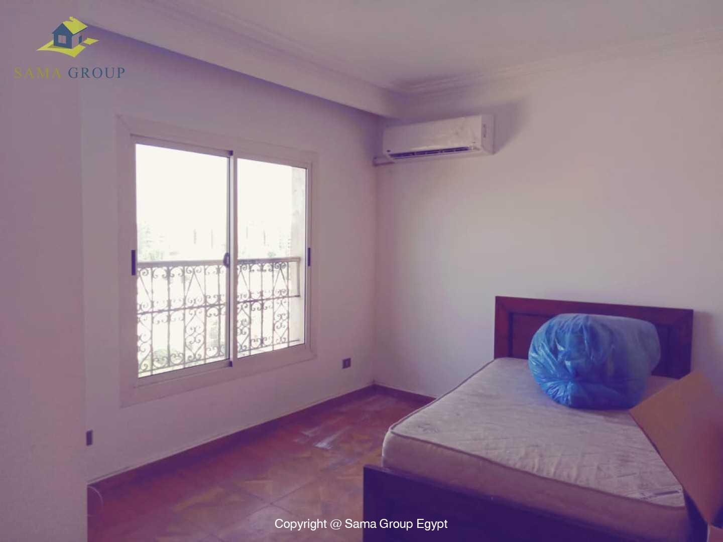 Penthouse With Pool For Rent In Maadi Degla,Semi furnished,Penthouse NO #11