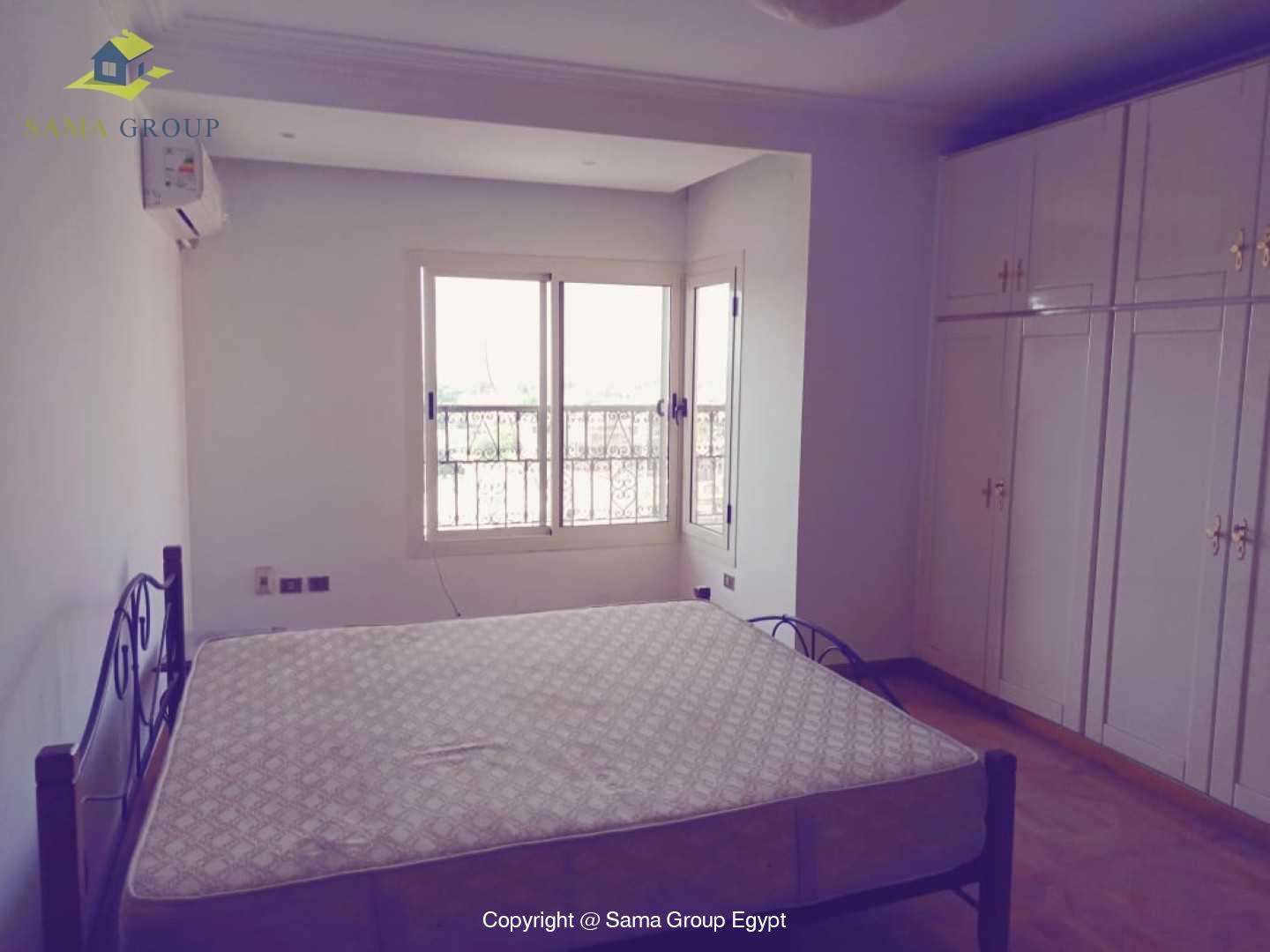Penthouse With Pool For Rent In Maadi Degla,Semi furnished,Penthouse NO #10