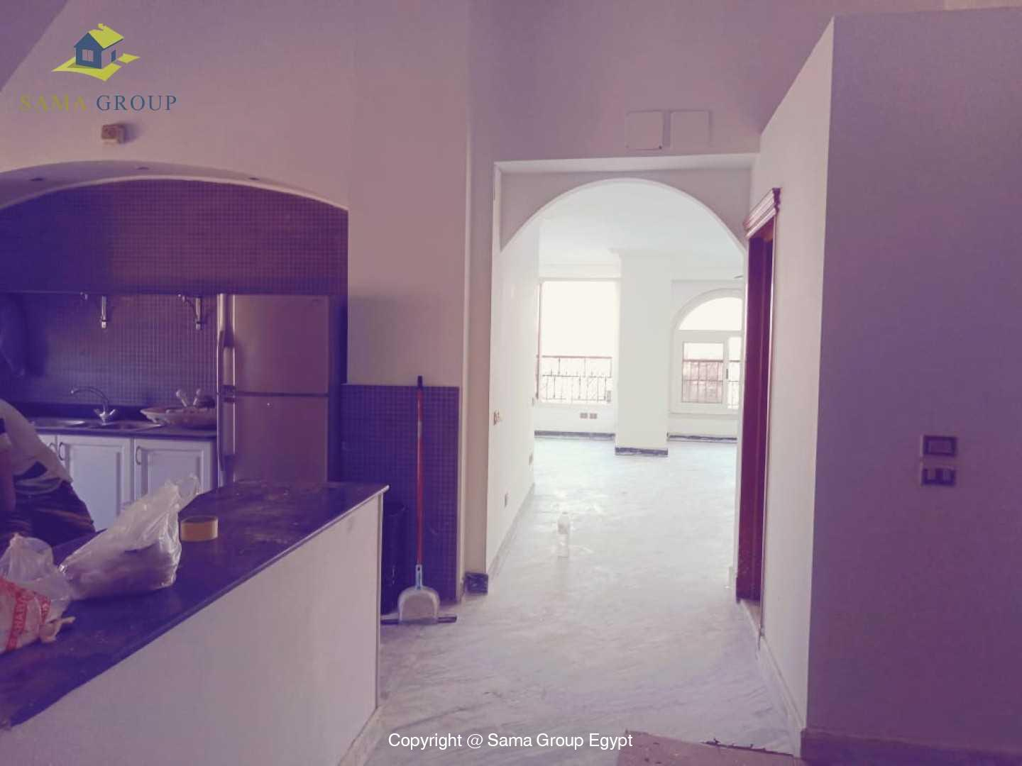 Penthouse With Pool For Rent In Maadi Degla,Semi furnished,Penthouse NO #3