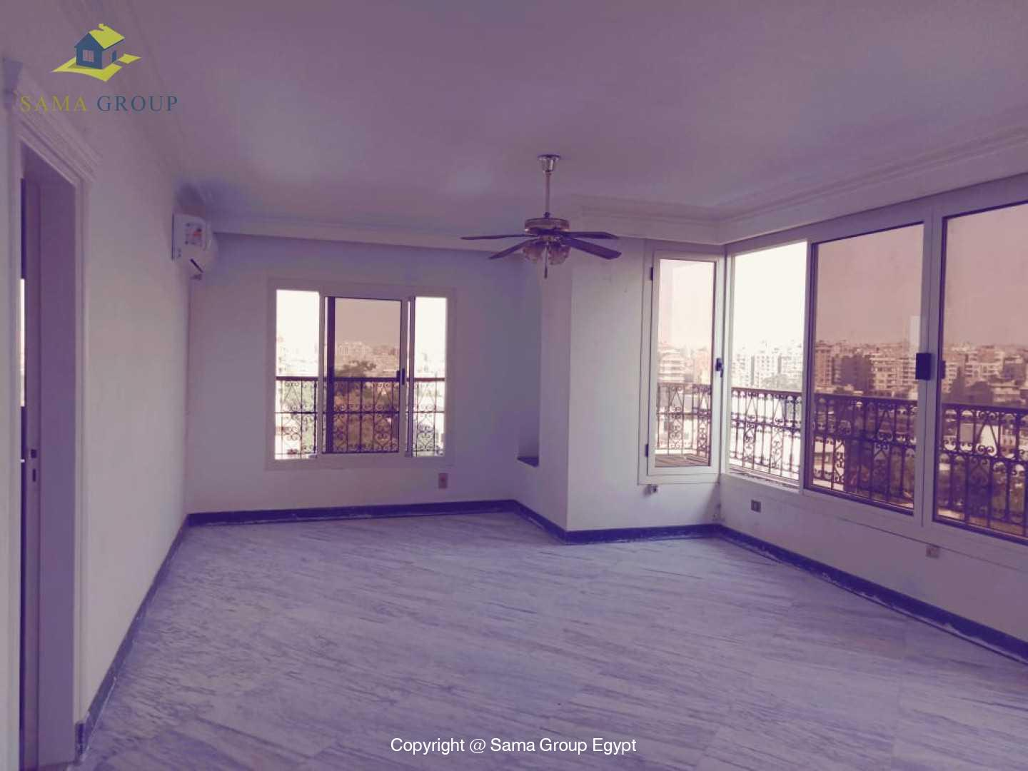 Penthouse With Pool For Rent In Maadi Degla,Semi furnished,Penthouse NO #4