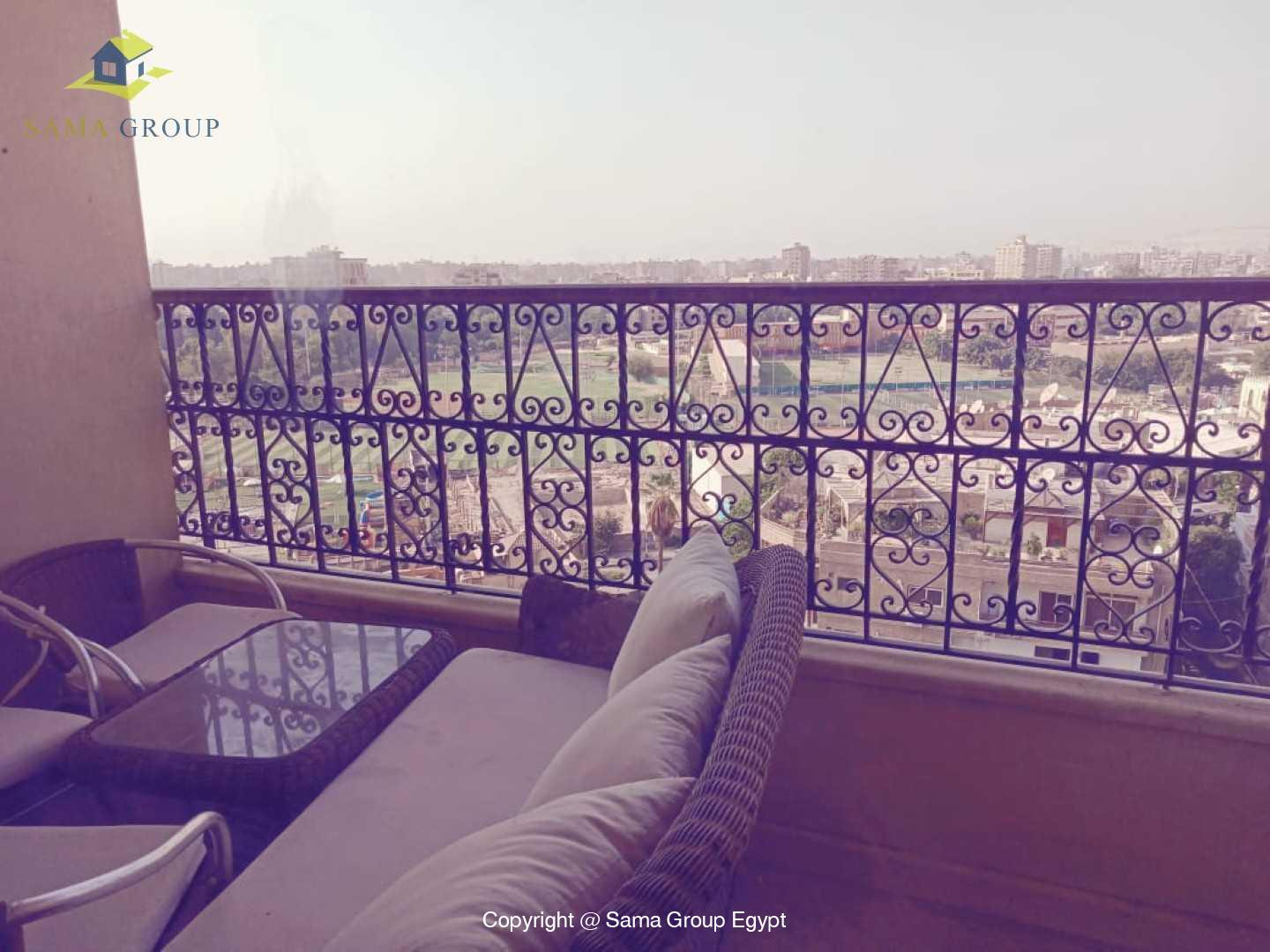 Penthouse With Pool For Rent In Maadi Degla,Semi furnished,Penthouse NO #6