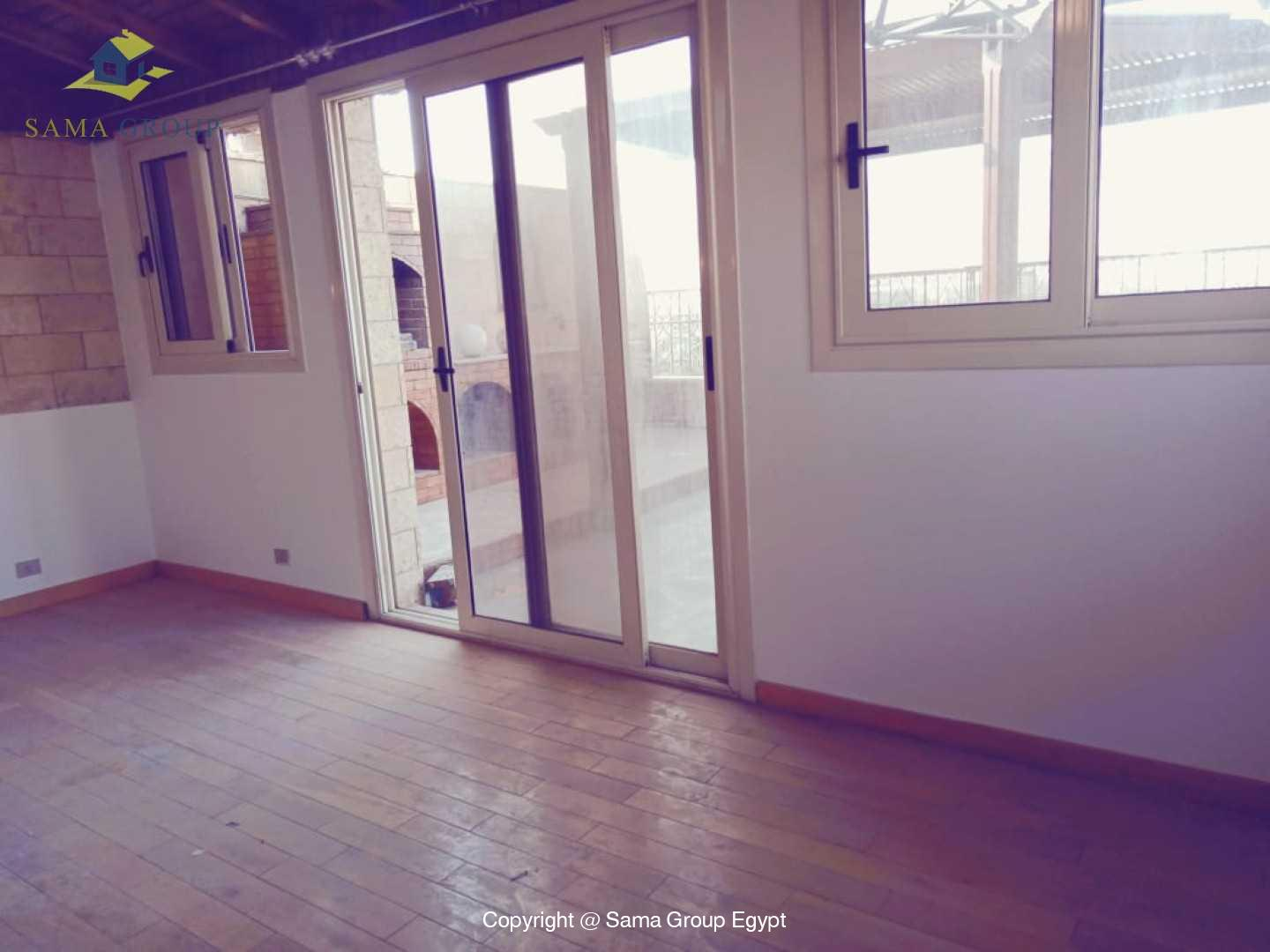 Penthouse With Pool For Rent In Maadi Degla,Semi furnished,Penthouse NO #7