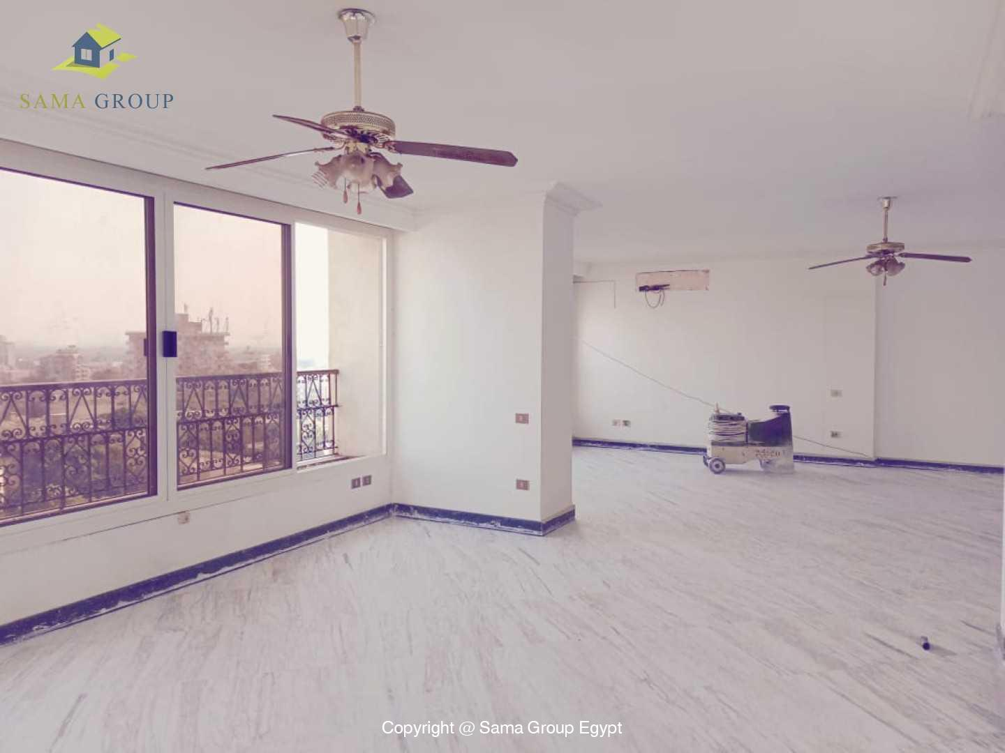 Penthouse With Pool For Rent In Maadi Degla,Semi furnished,Penthouse NO #8