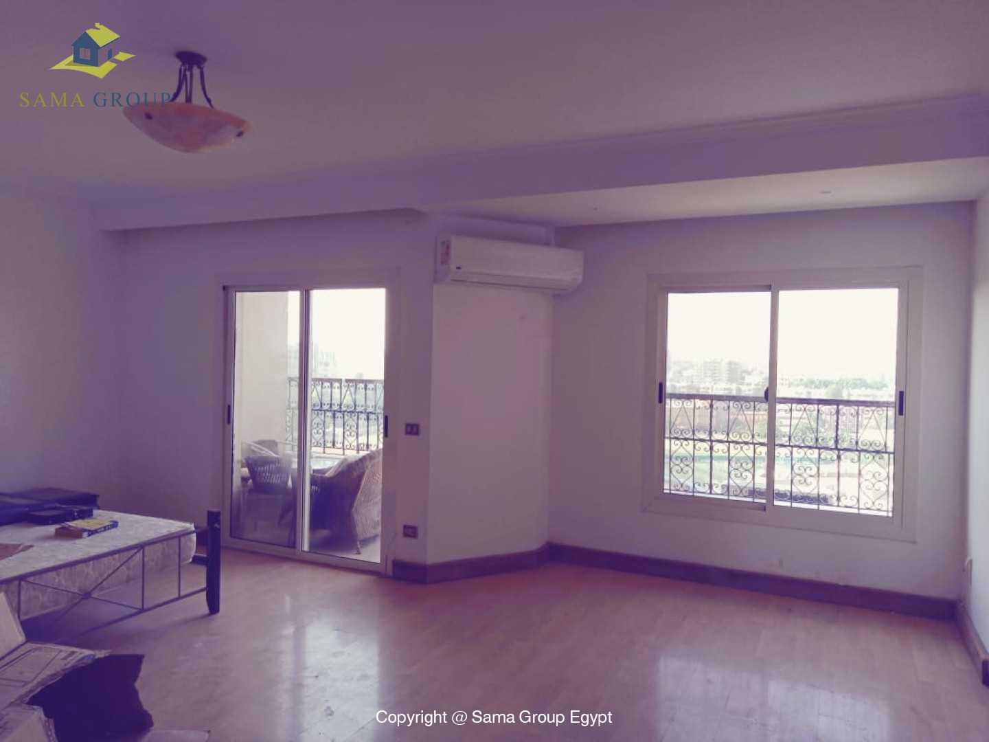 Penthouse With Pool For Rent In Maadi Degla,Semi furnished,Penthouse NO #20