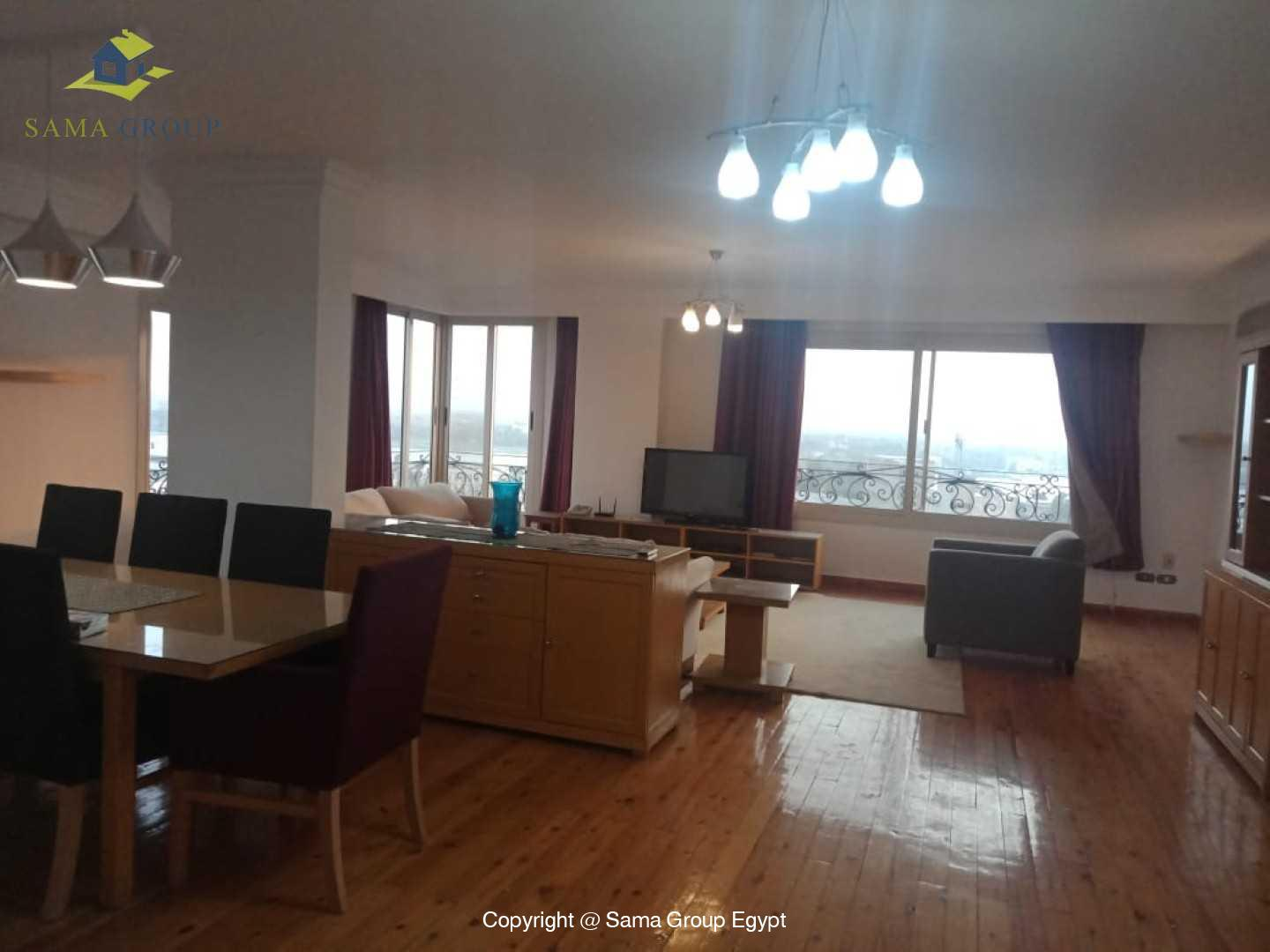 Penthouse For Rent In Maadi Sarayat,Modern Furnished,Penthouse NO #20