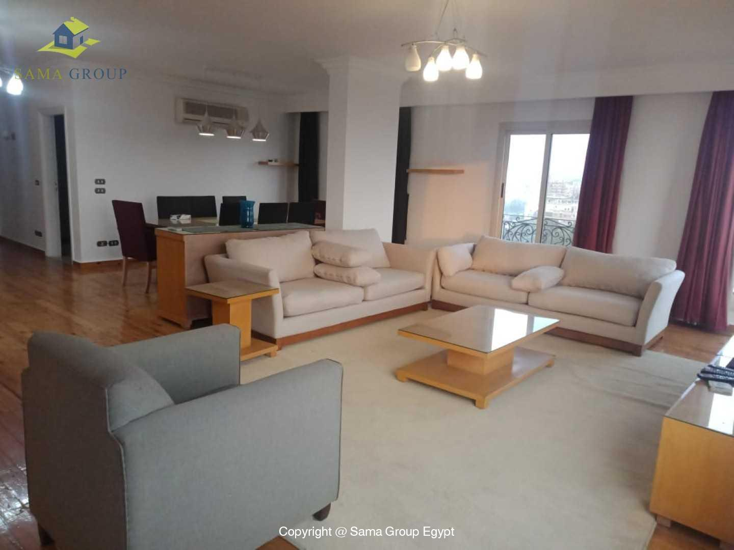 Penthouse For Rent In Maadi Sarayat,Modern Furnished,Penthouse NO #21