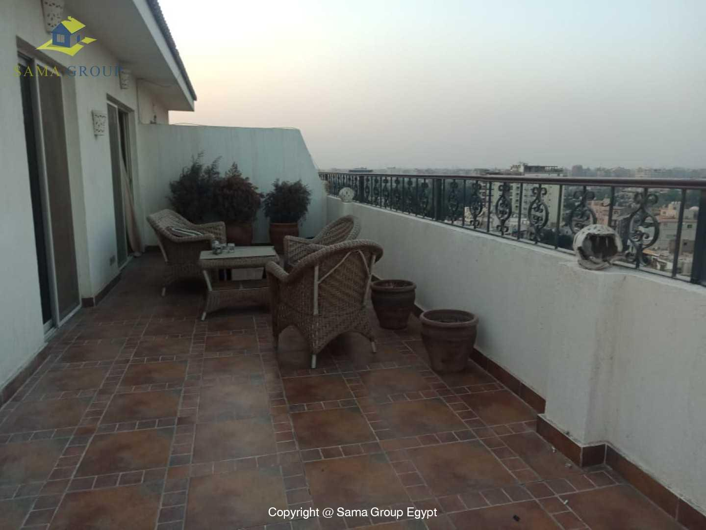 Penthouse For Rent In Maadi Sarayat,Modern Furnished,Penthouse NO #5