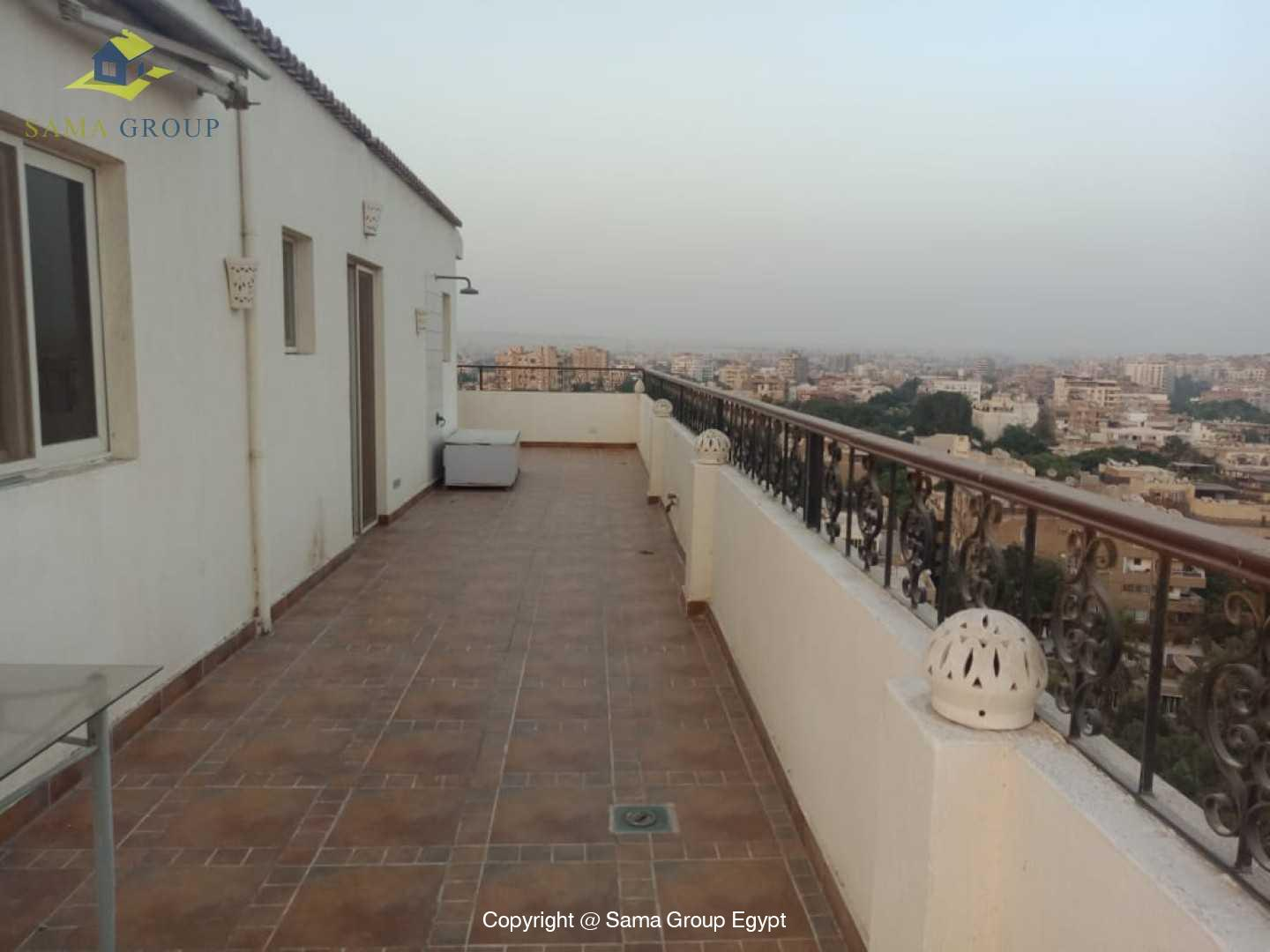 Penthouse For Rent In Maadi Sarayat,Modern Furnished,Penthouse NO #6