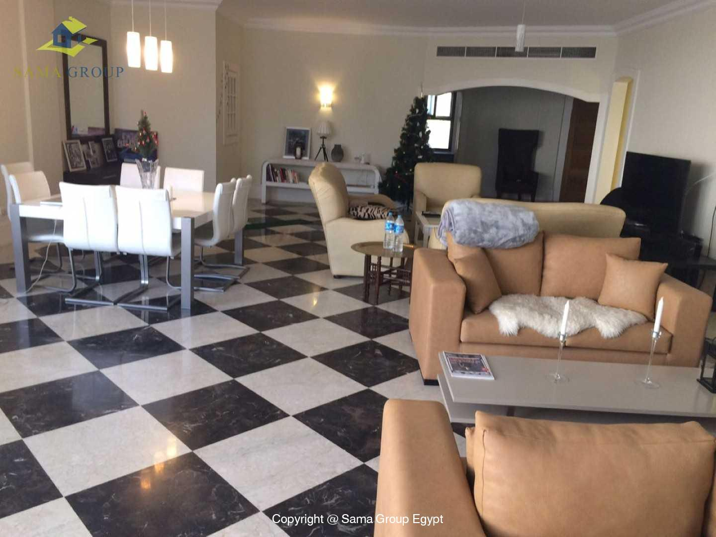 Apartment With Pool For Rent In Maadi Sarayat,Modern Furnished,Apartment NO #5