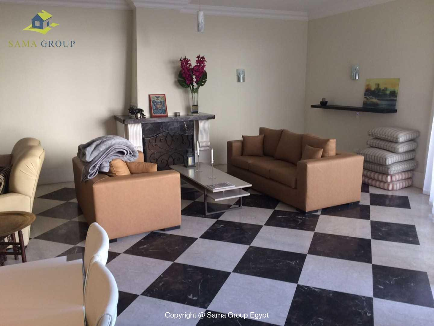 Apartment With Pool For Rent In Maadi Sarayat,Modern Furnished,Apartment NO #4