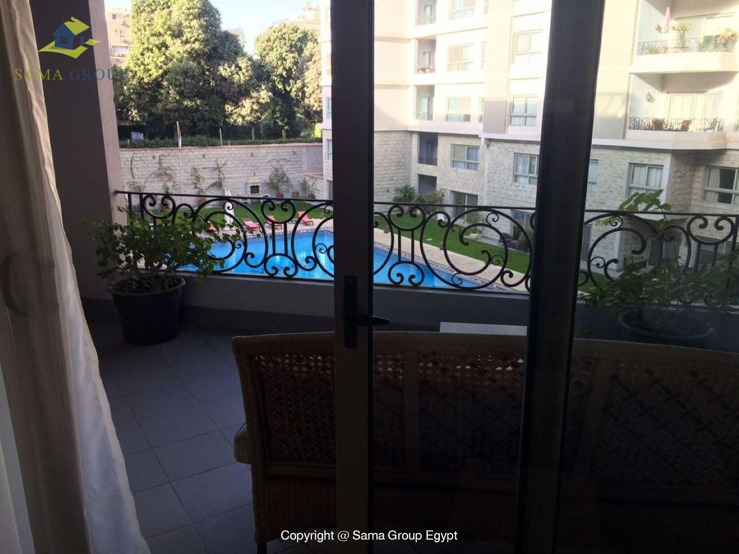 Apartment With Pool For Rent In Maadi Sarayat,Modern Furnished,Apartment NO #3