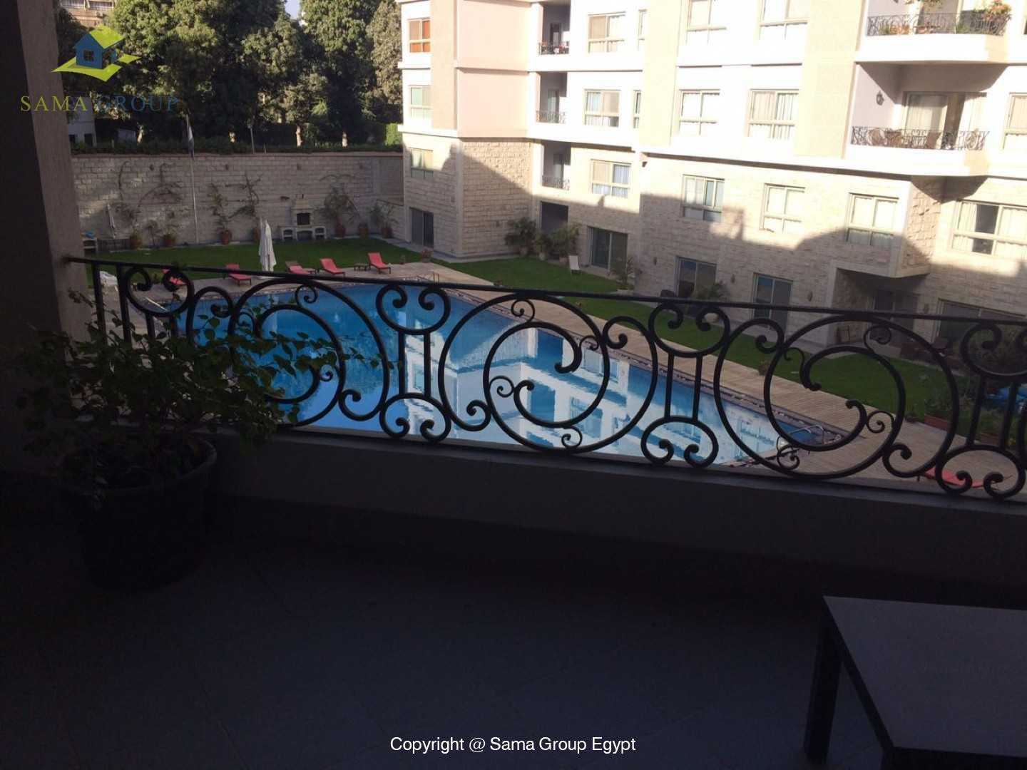 Apartment With Pool For Rent In Maadi Sarayat,Modern Furnished,Apartment NO #11