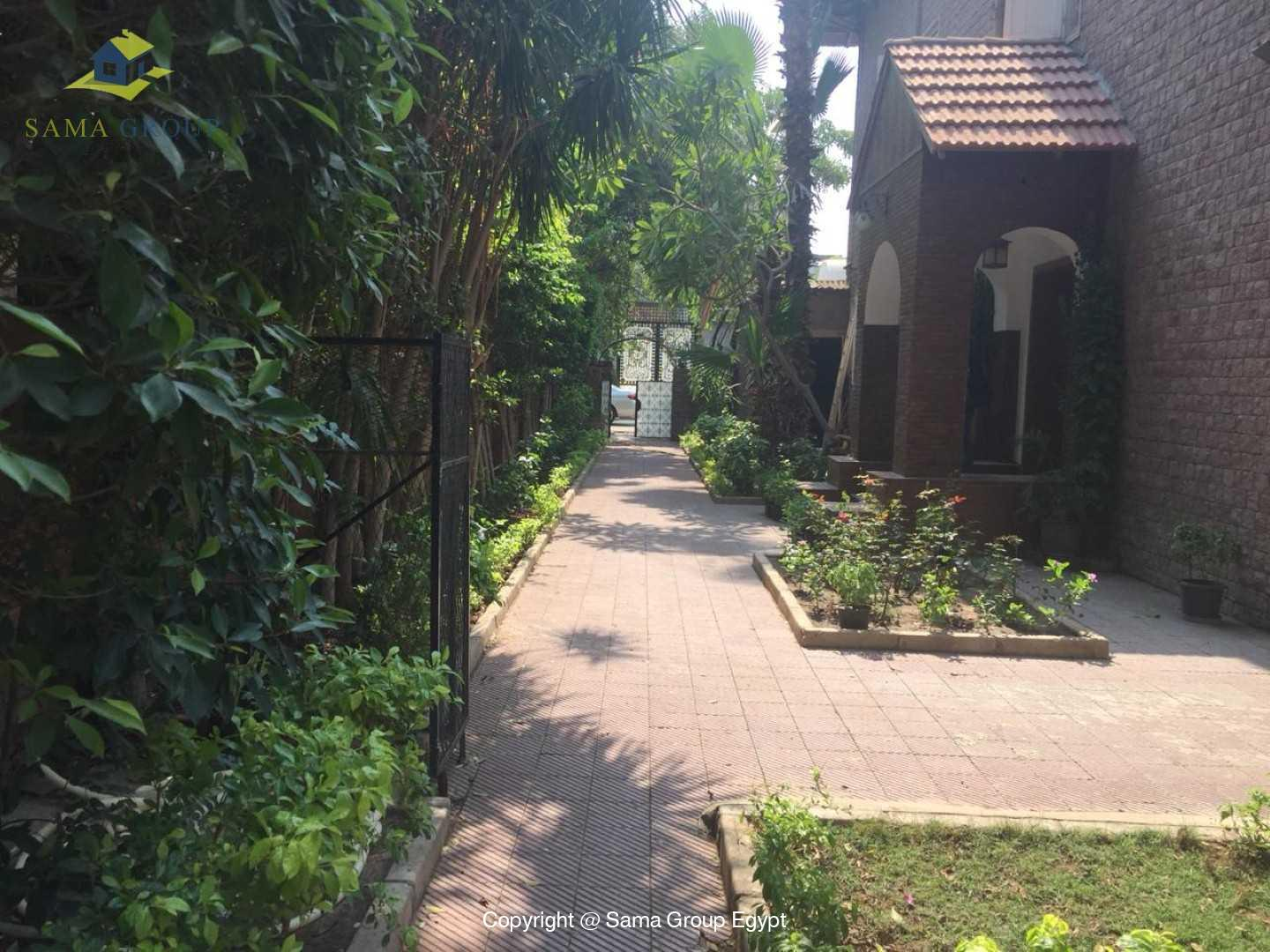 Villa For Rent In Maadi Sarayat,Semi furnished,Villa NO #19
