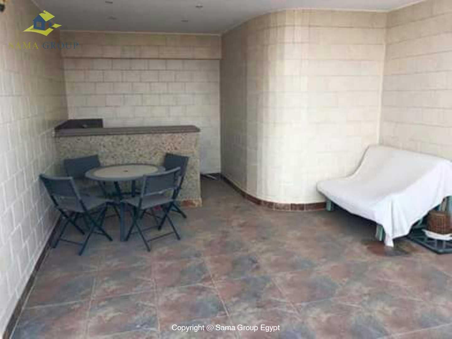 Penthouse For Rent In Maadi Degla Close to CAC,Modern Furnished,Penthouse NO #16