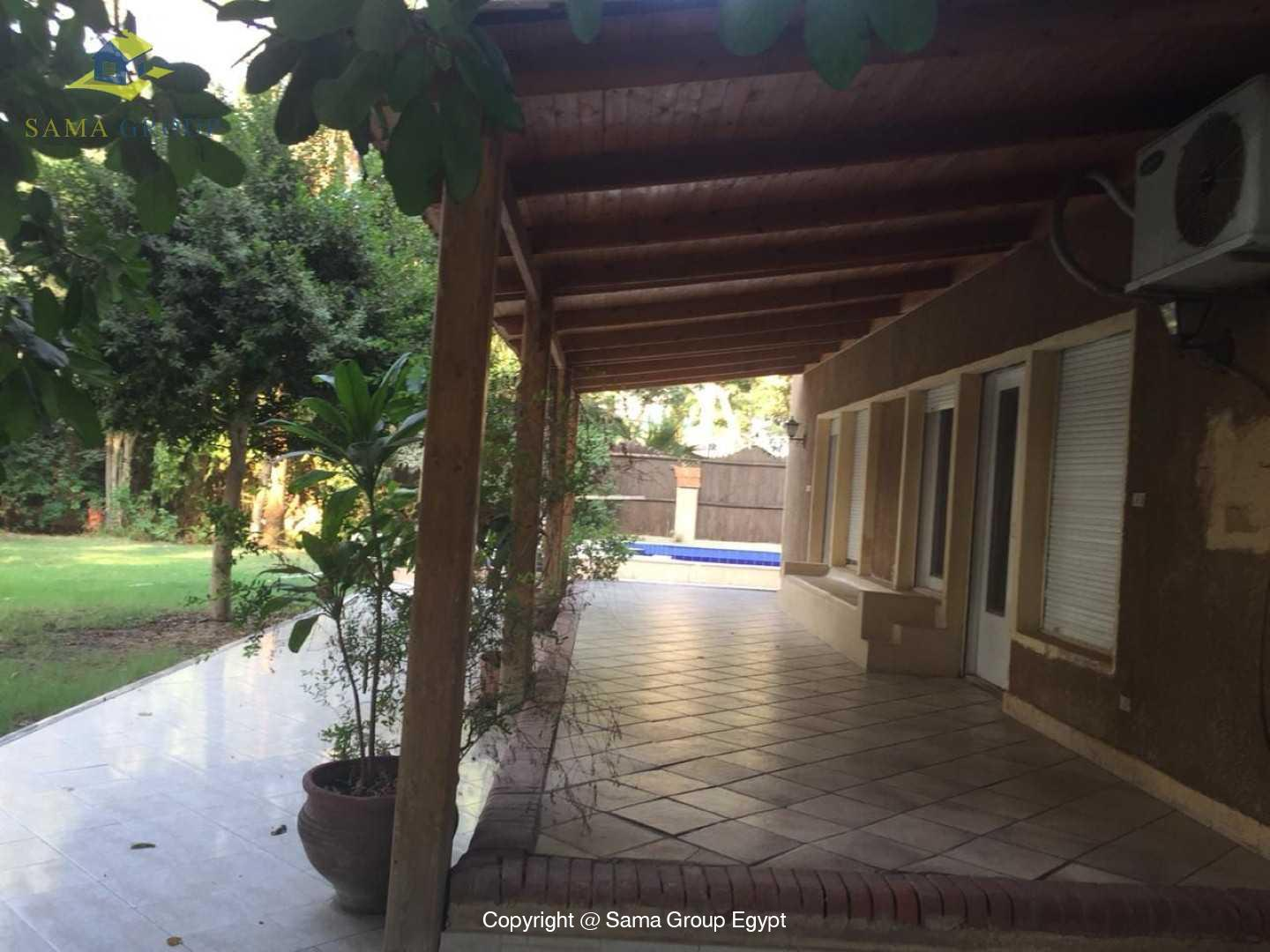 Villa For Rent In Maadi Sarayat,Semi furnished,Villa NO #18