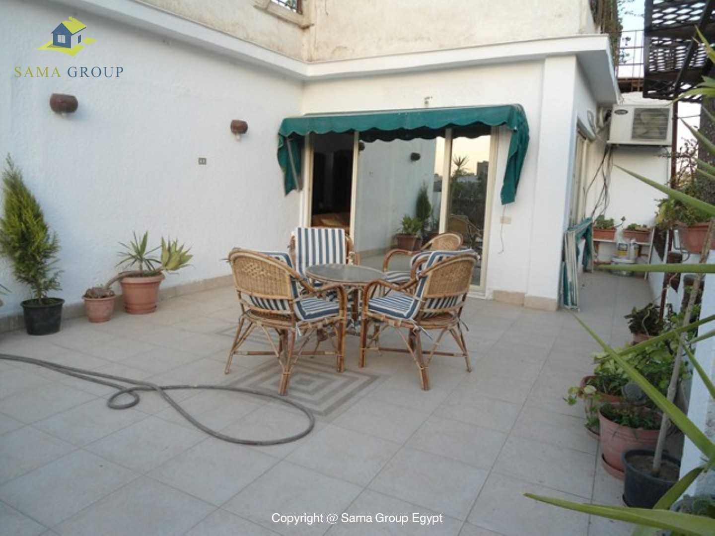 Penthouse For Rent In Maadi Sarayat,Modern Furnished,Penthouse NO #9