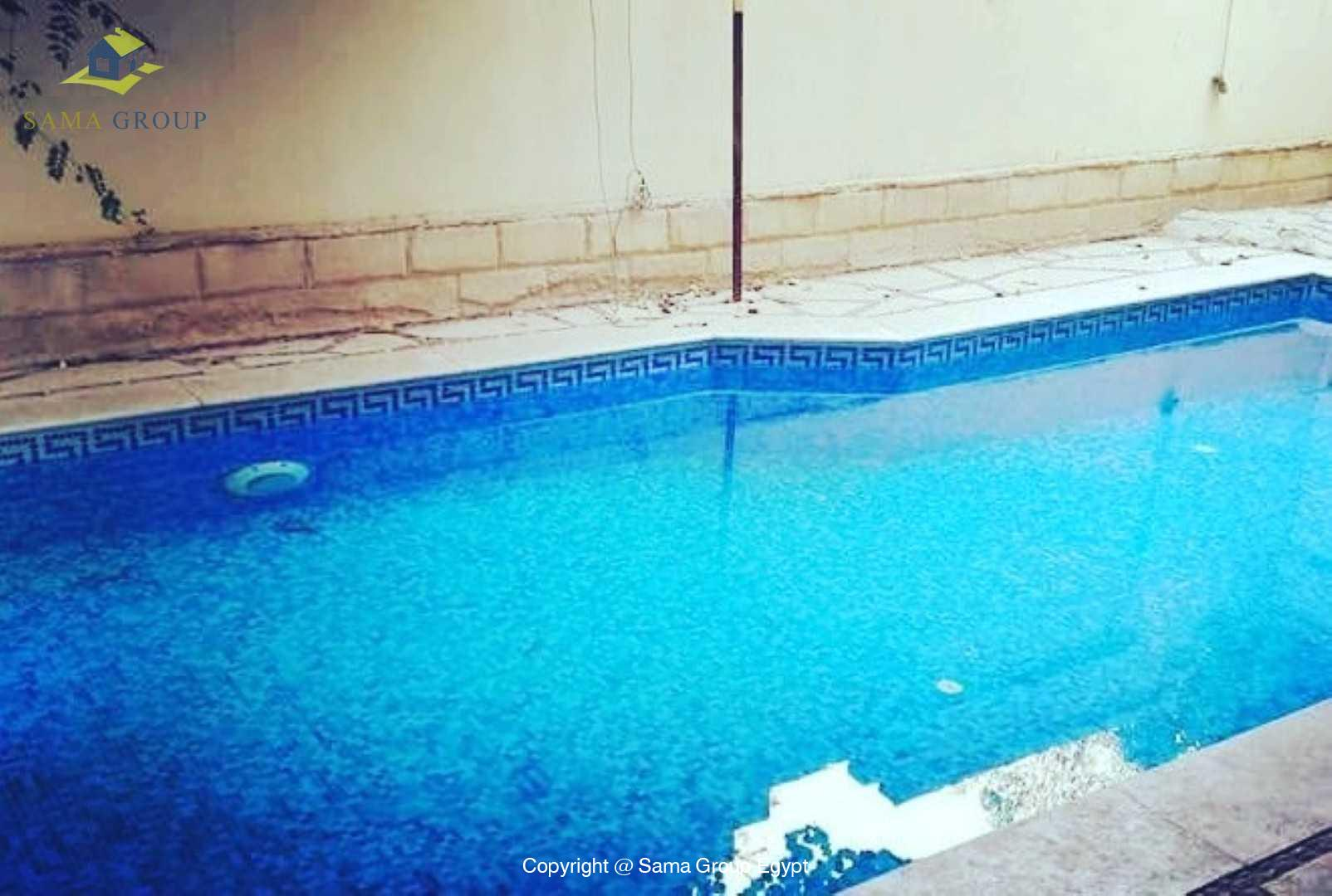 Furnished Ground Floor With Pool For Rent In Maadi,Modern Furnished,Ground Floor NO #1