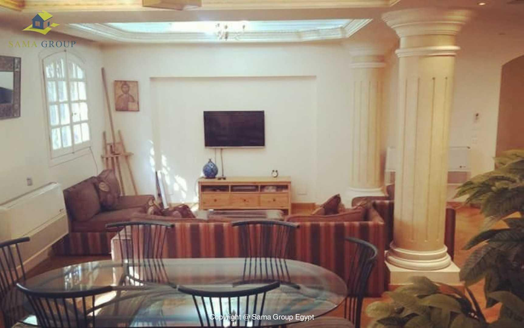 Furnished Ground Floor With Pool For Rent In Maadi,Modern Furnished,Ground Floor NO #12