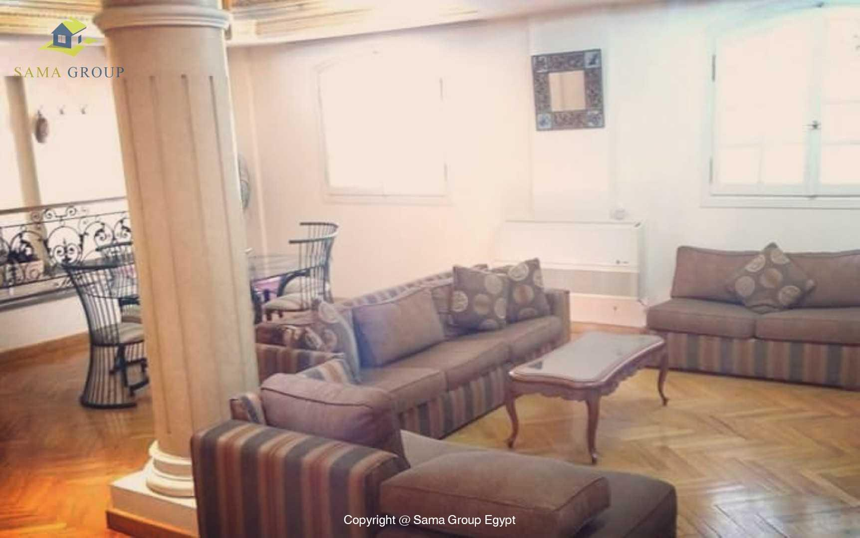 Furnished Ground Floor With Pool For Rent In Maadi,Modern Furnished,Ground Floor NO #5