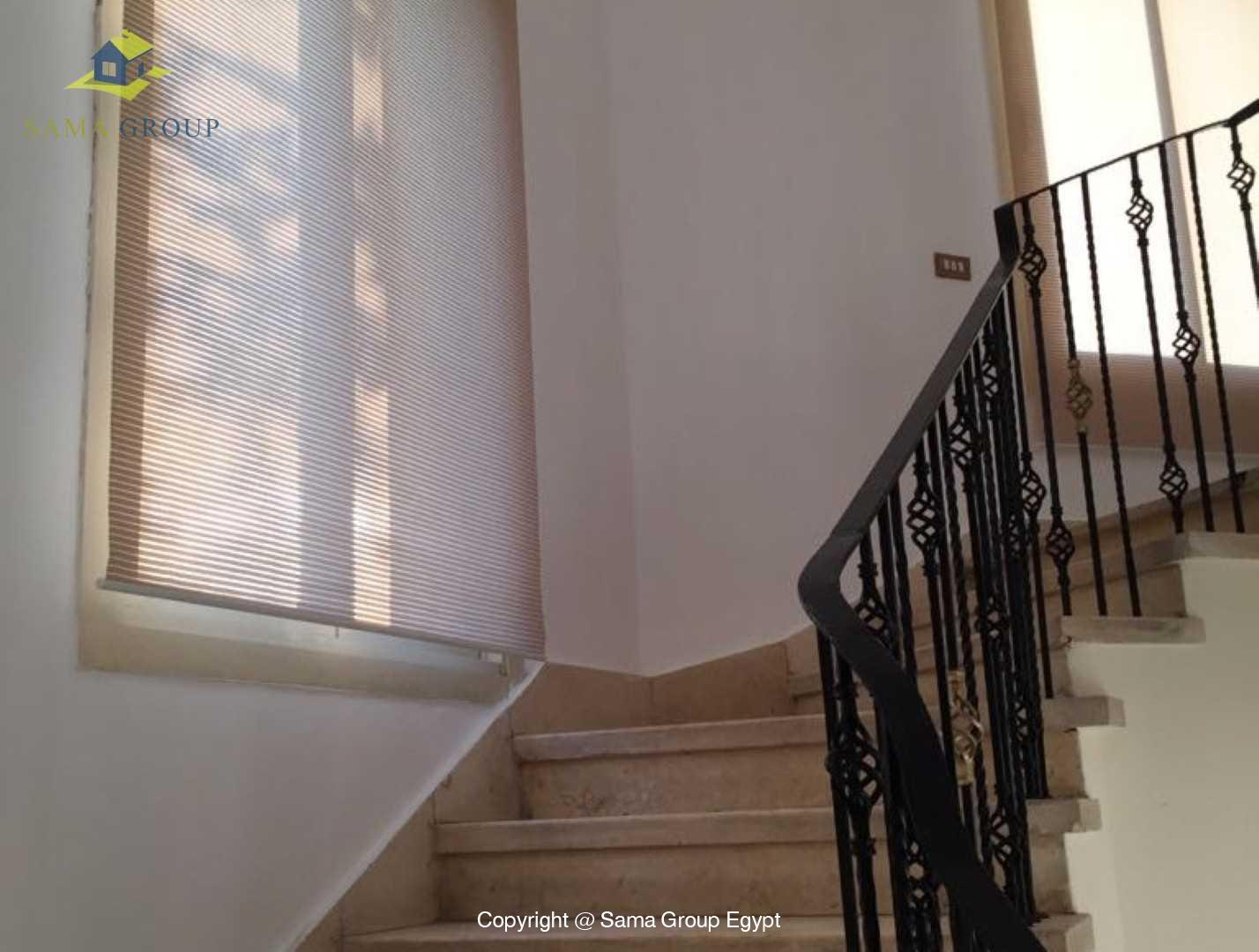 villa For Rent In Katameya Heights,Modern Furnished,Villa NO #12