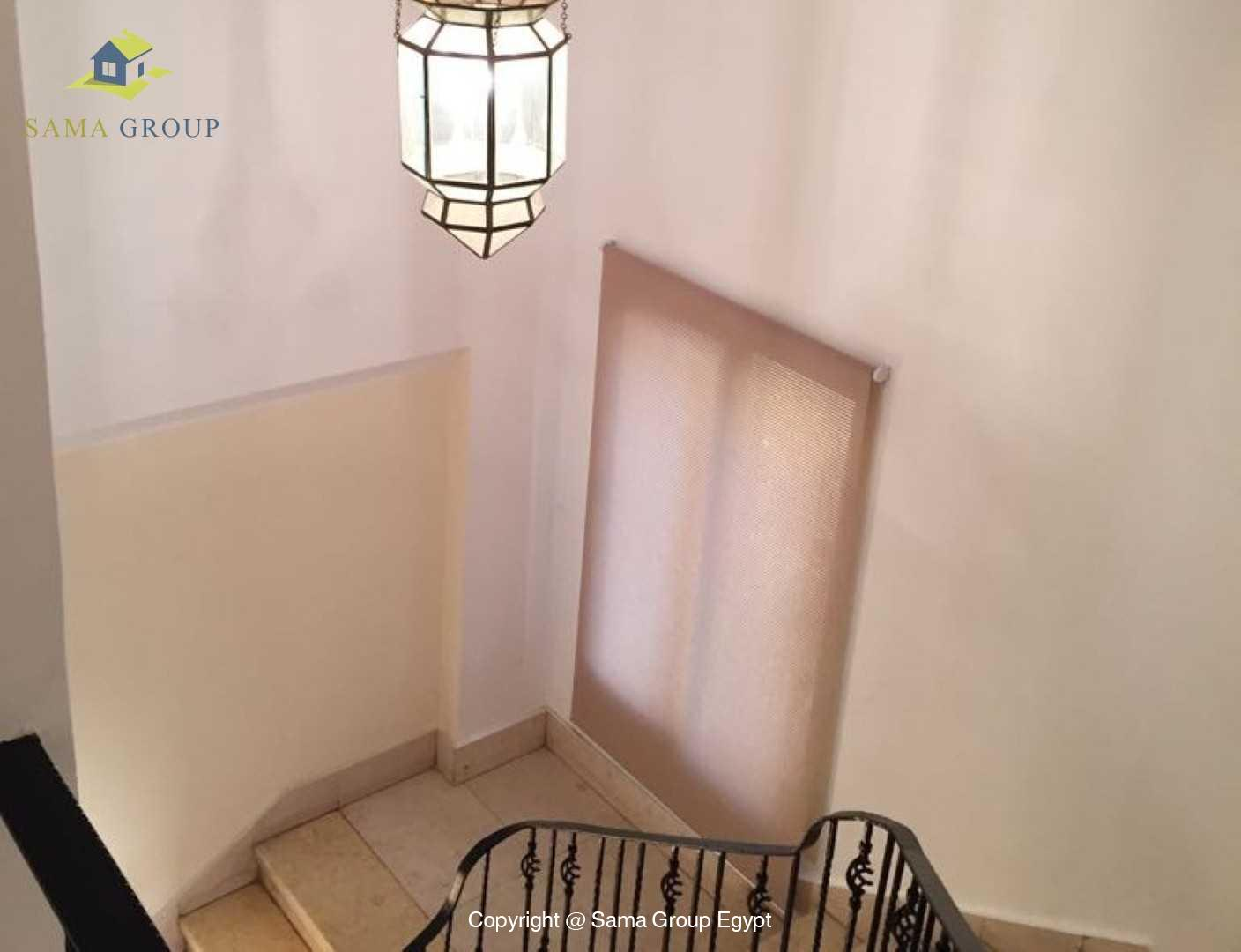 villa For Rent In Katameya Heights,Modern Furnished,Villa NO #11