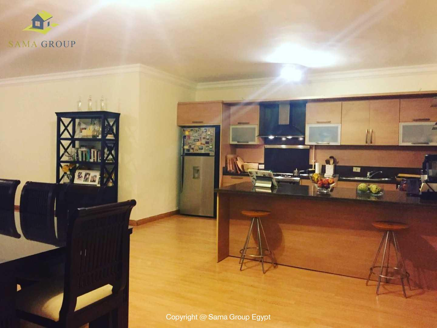 Ground Floor With Swimming Pool in Katameya Heights,Modern Furnished,Ground Floor NO #3