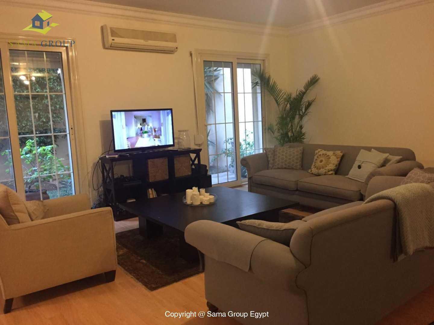 Ground Floor For Rent in Katameya Heights,Modern Furnished,Ground Floor NO #2