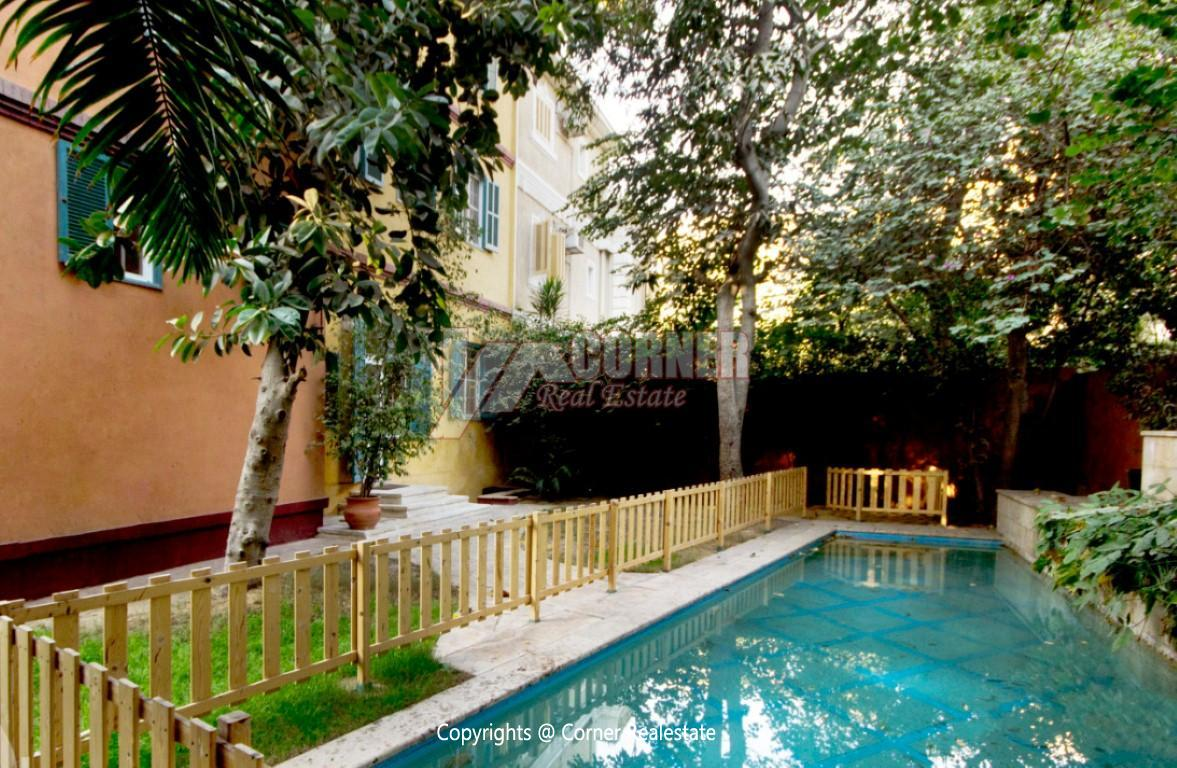 Villa With Swimming Pool For Rent In Old Maadi