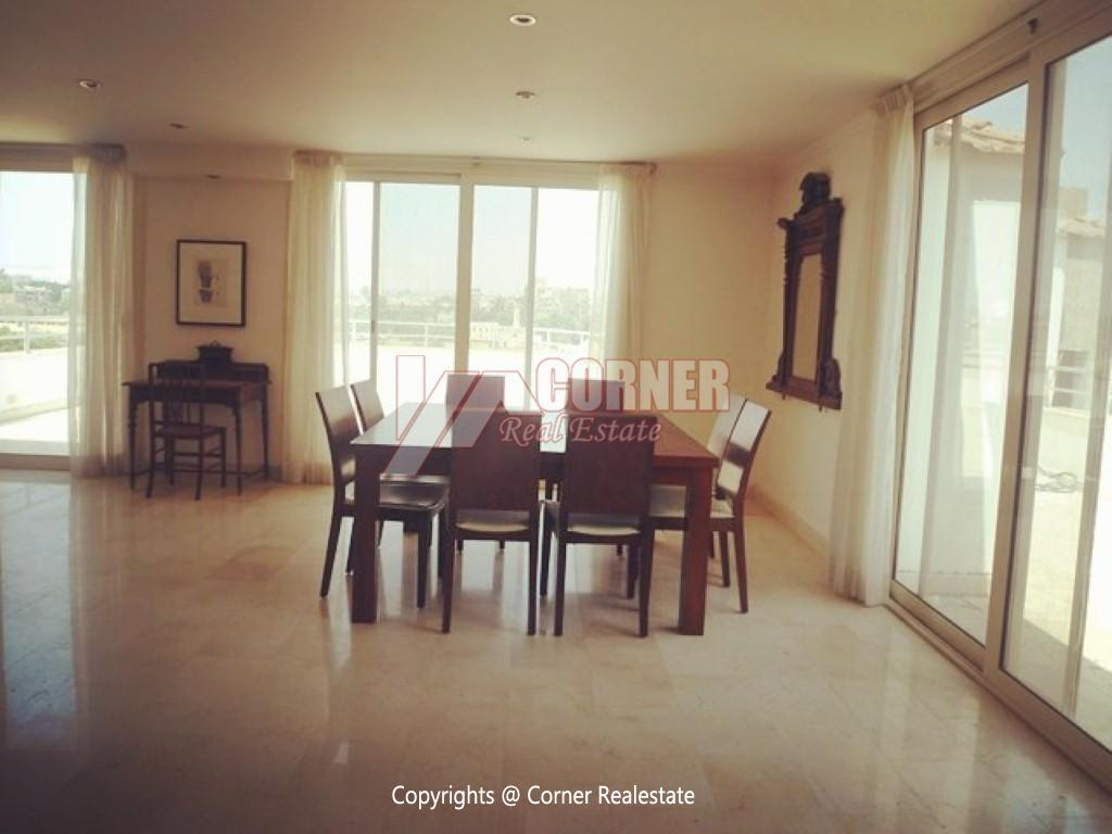 Modern Penthouse For Rent In Maadi Sarayat,Modern Furnished,Penthouse NO #13