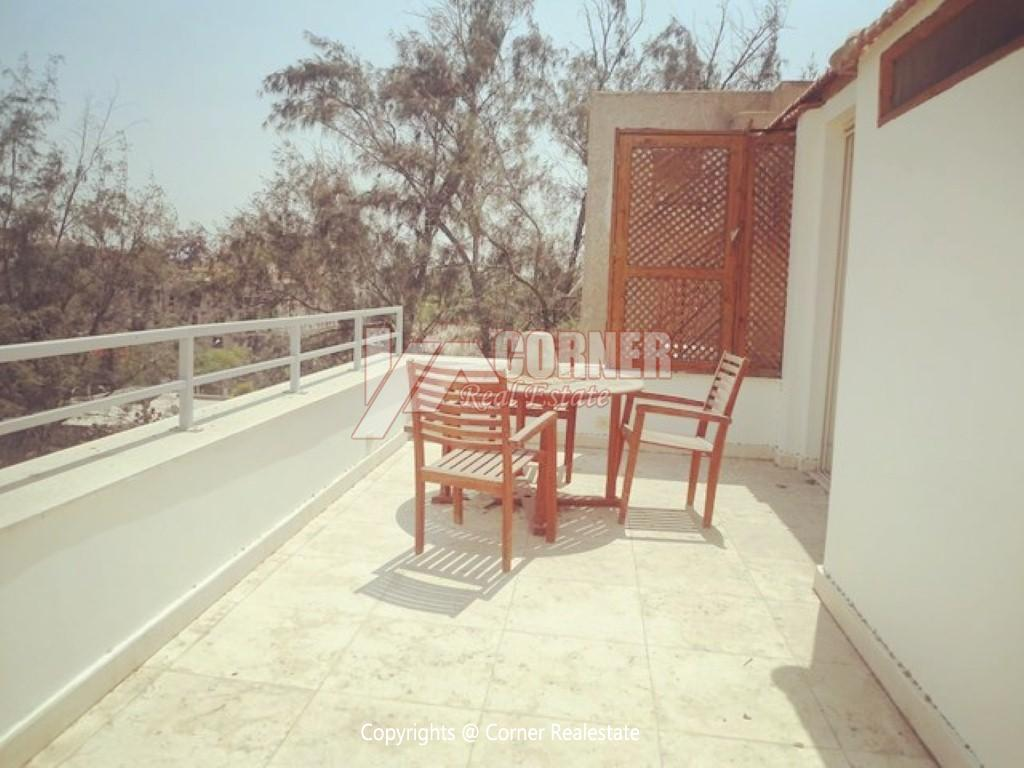 Modern Penthouse For Rent In Maadi Sarayat,Modern Furnished,Penthouse NO #7