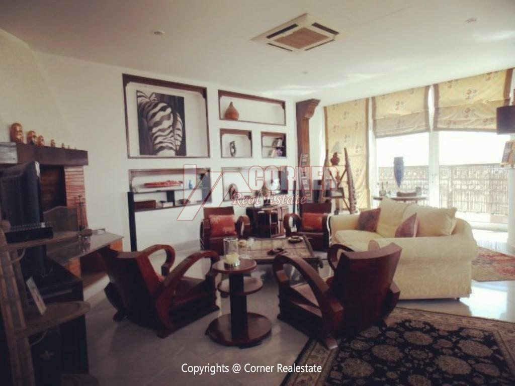 Penthouse With Swimming Pool For Rent In Maadi Sarayat,Modern Furnished,Penthouse NO #20