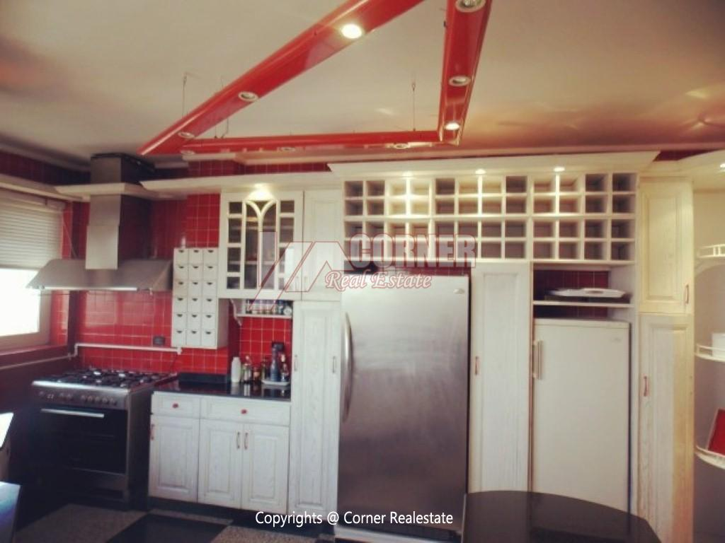 Penthouse With Swimming Pool For Rent In Maadi Sarayat,Modern Furnished,Penthouse NO #22